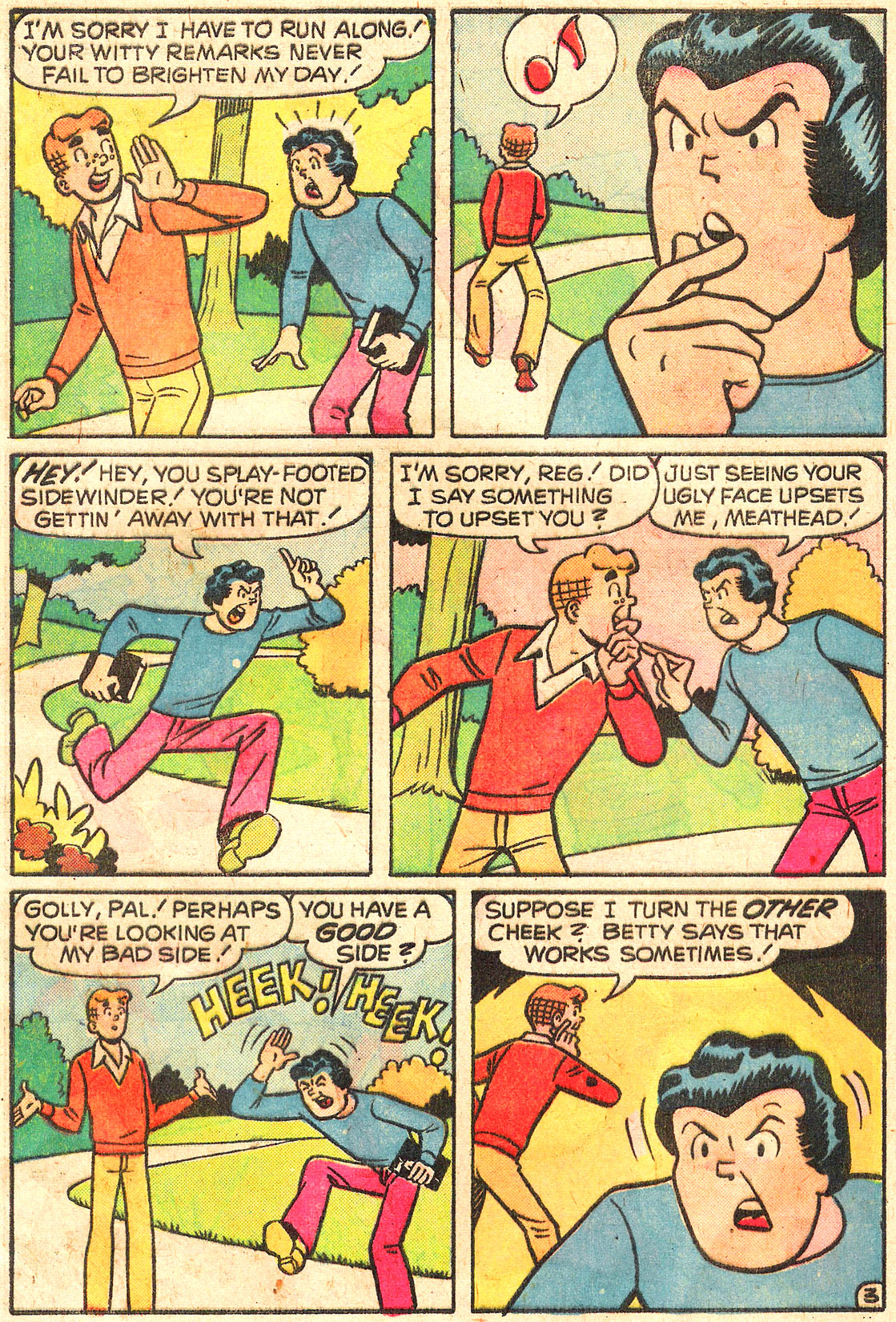 Read online Archie (1960) comic -  Issue #250 - 5