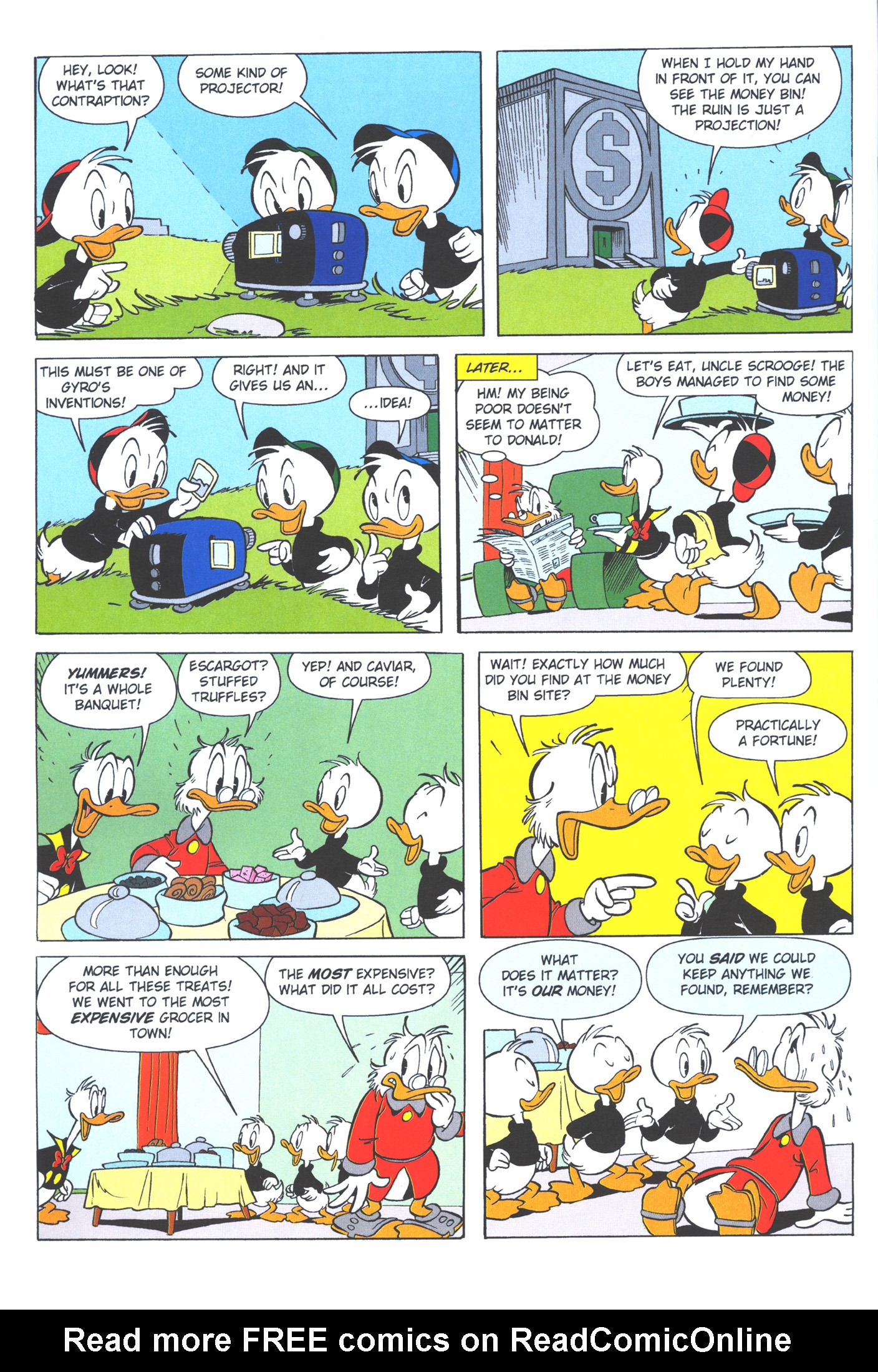 Read online Uncle Scrooge (1953) comic -  Issue #372 - 62