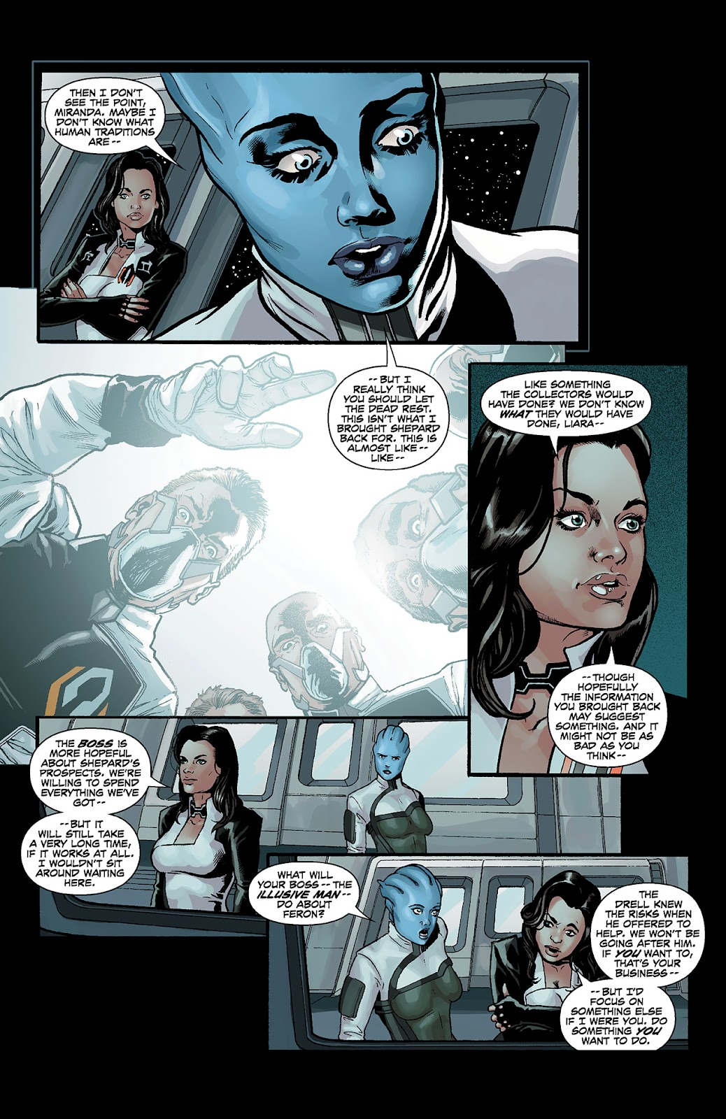 Mass Effect: Redemption Issue #4 #4 - English 22