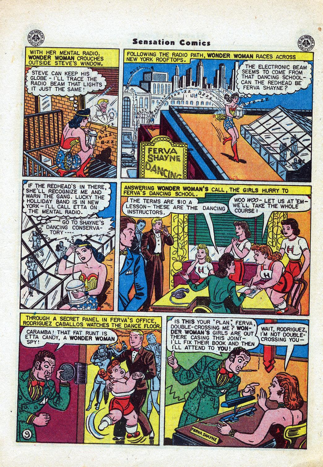 Read online Sensation (Mystery) Comics comic -  Issue #46 - 11