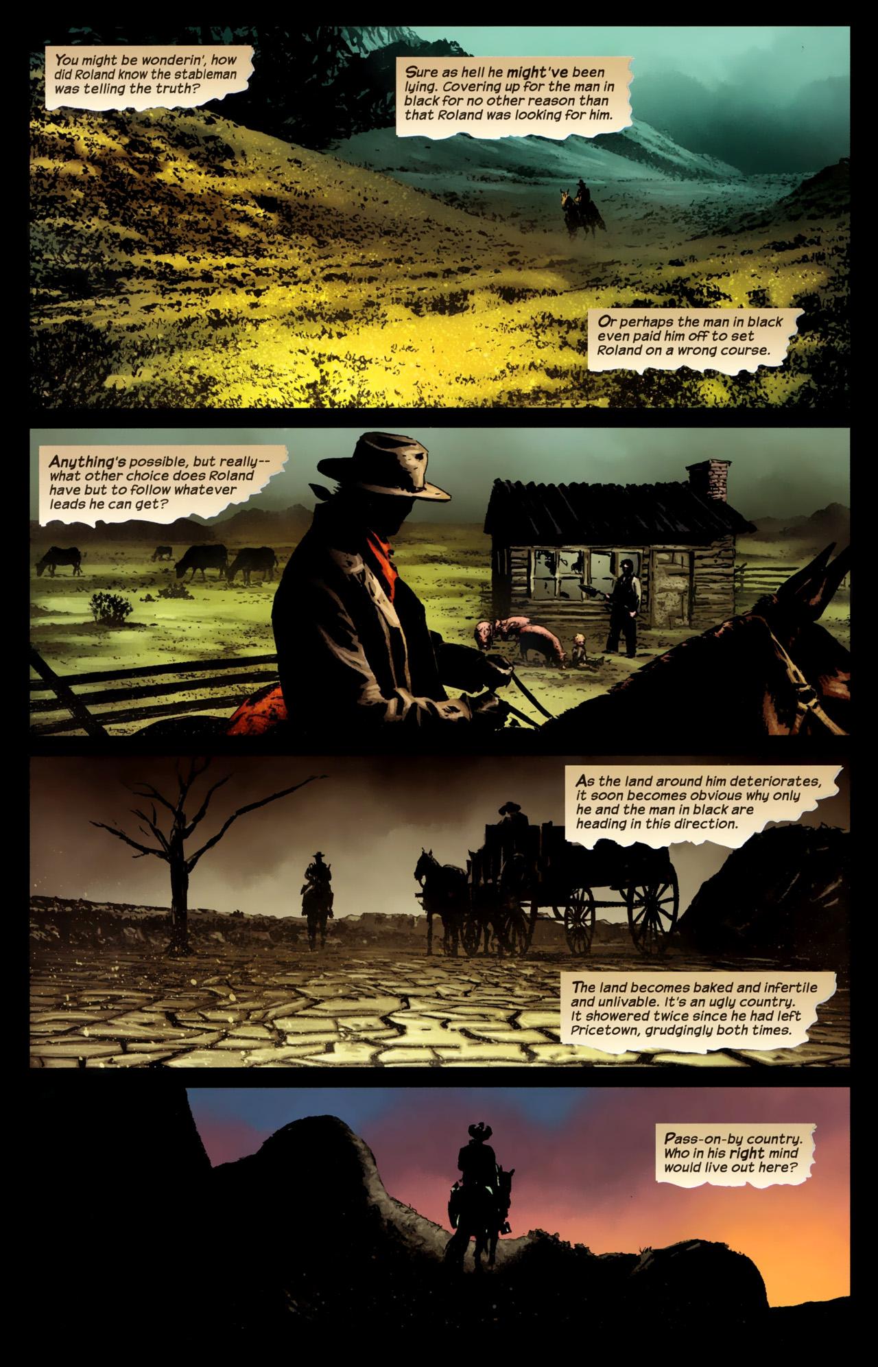 Read online Dark Tower: The Gunslinger - The Battle of Tull comic -  Issue #1 - 10