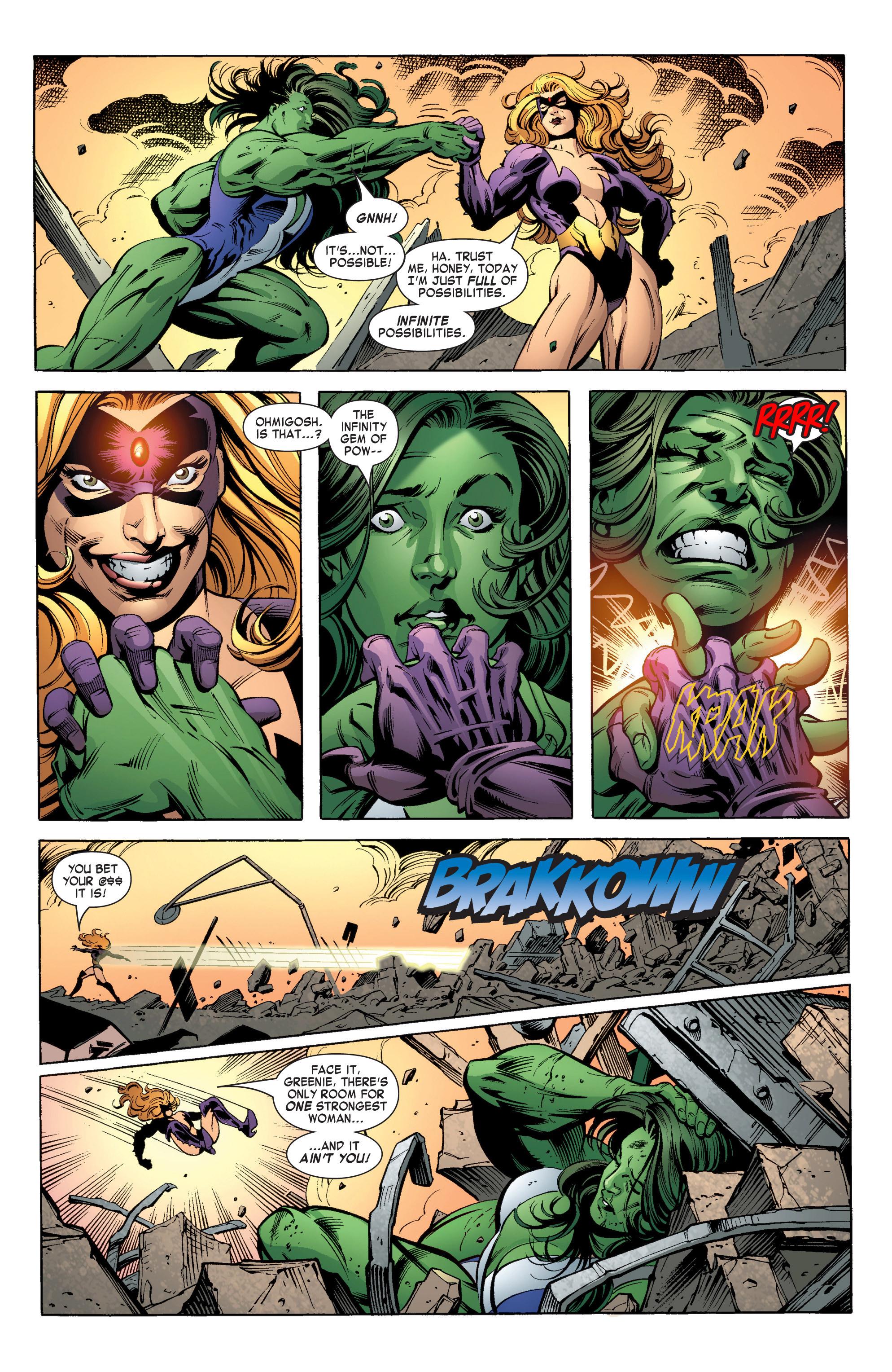 Read online She-Hulk (2004) comic -  Issue #11 - 21