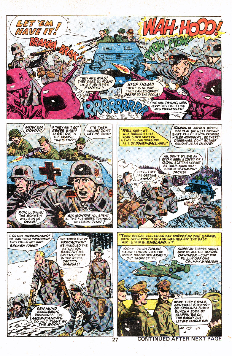 Read online Sgt. Fury comic -  Issue #139 - 29