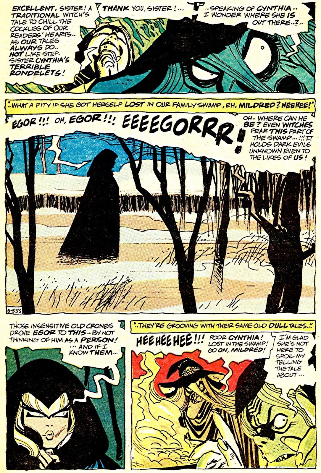 The Witching Hour (1969) issue 7 - Page 12