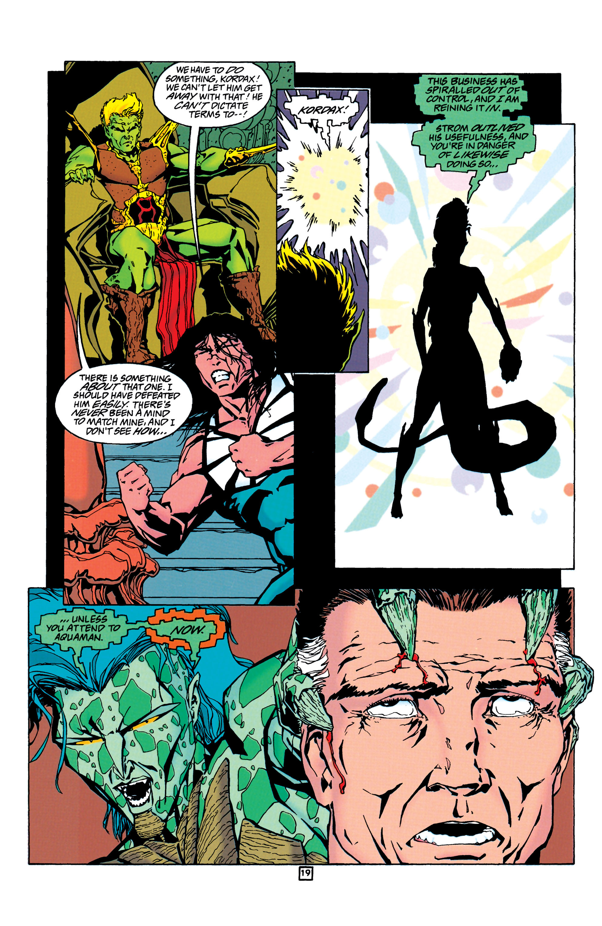 Read online Aquaman (1994) comic -  Issue #24 - 20