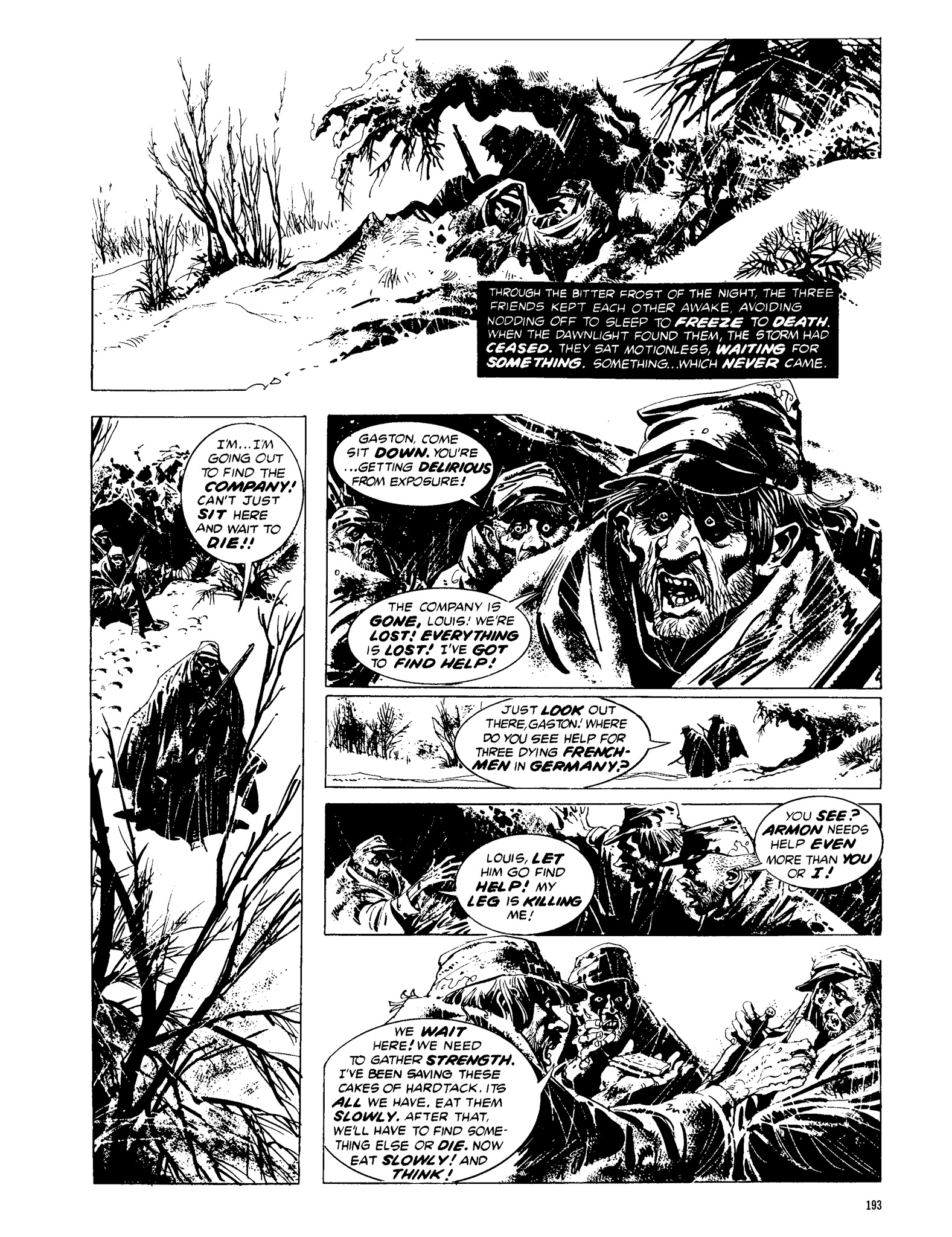 Read online Eerie Archives comic -  Issue # TPB 13 - 194