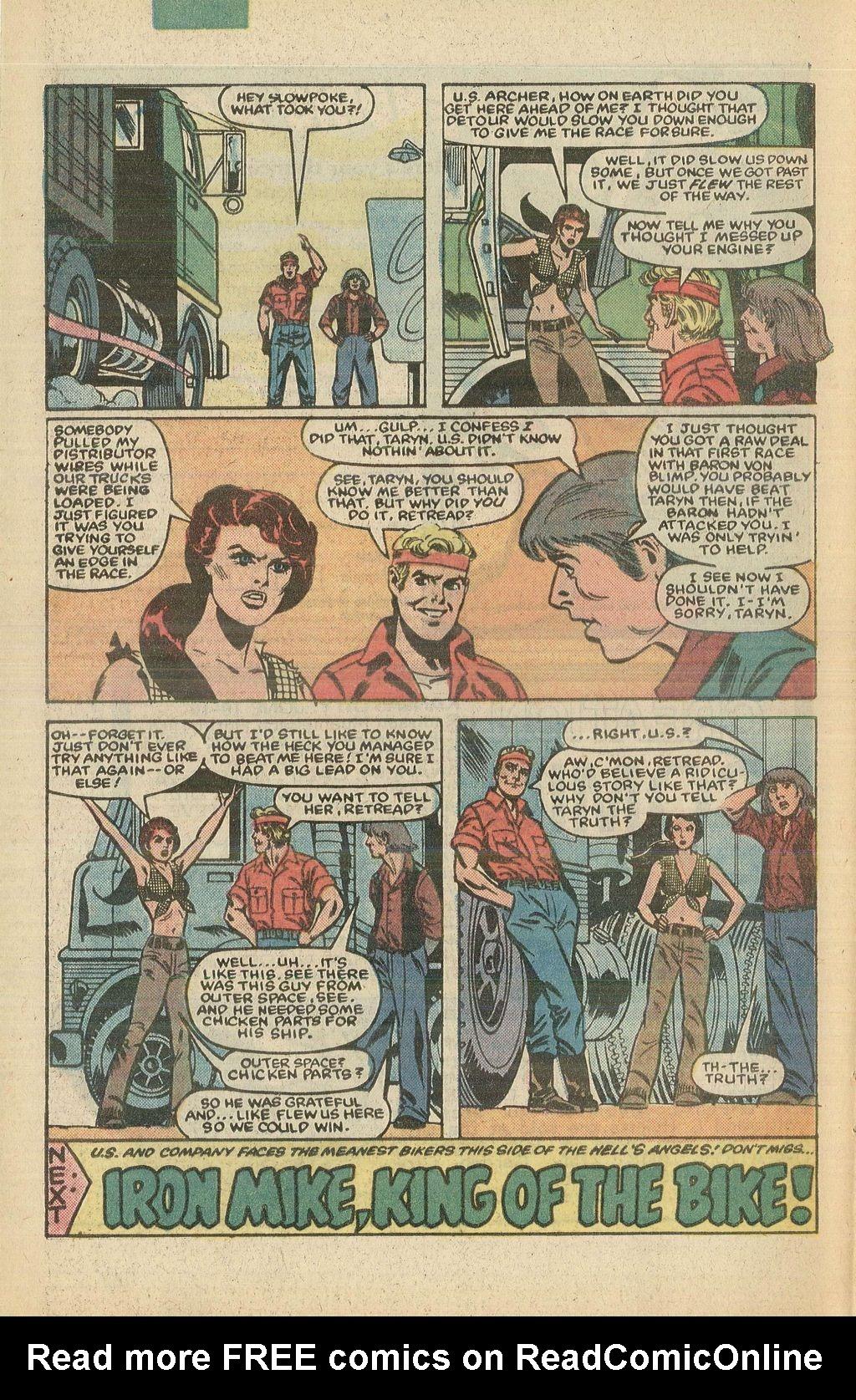 Read online U.S. 1 comic -  Issue #5 - 32