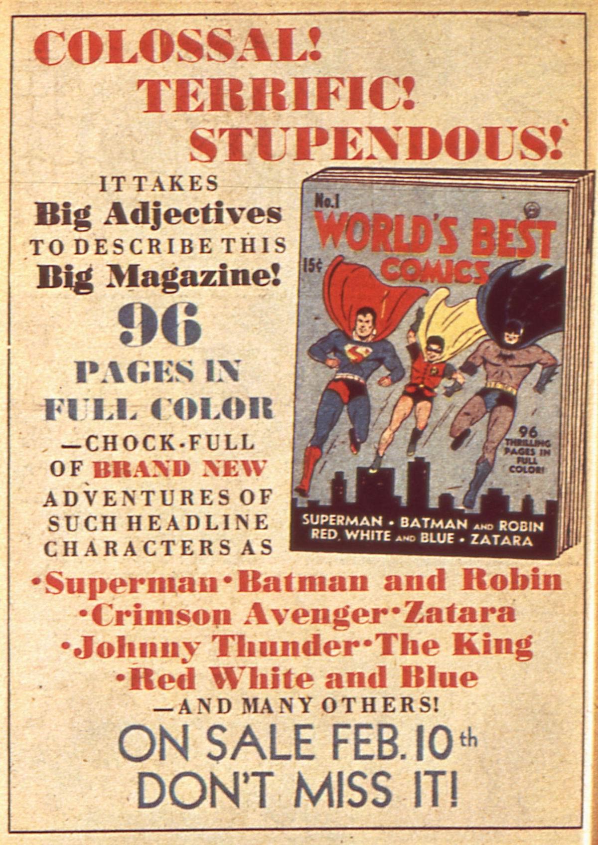Read online Detective Comics (1937) comic -  Issue #49 - 16