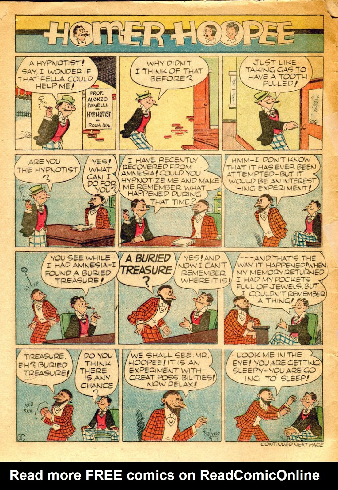 Read online Famous Funnies comic -  Issue #62 - 63