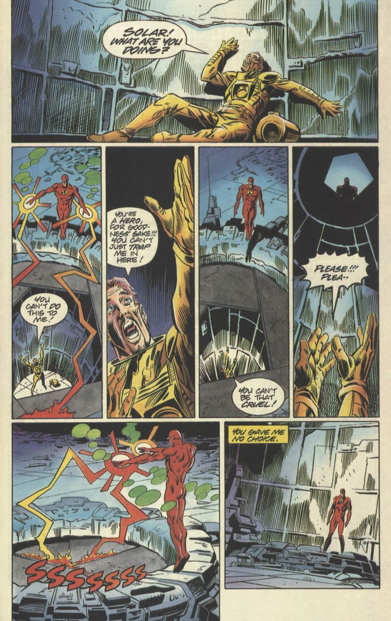 Read online Solar, Man of the Atom comic -  Issue #31 - 18