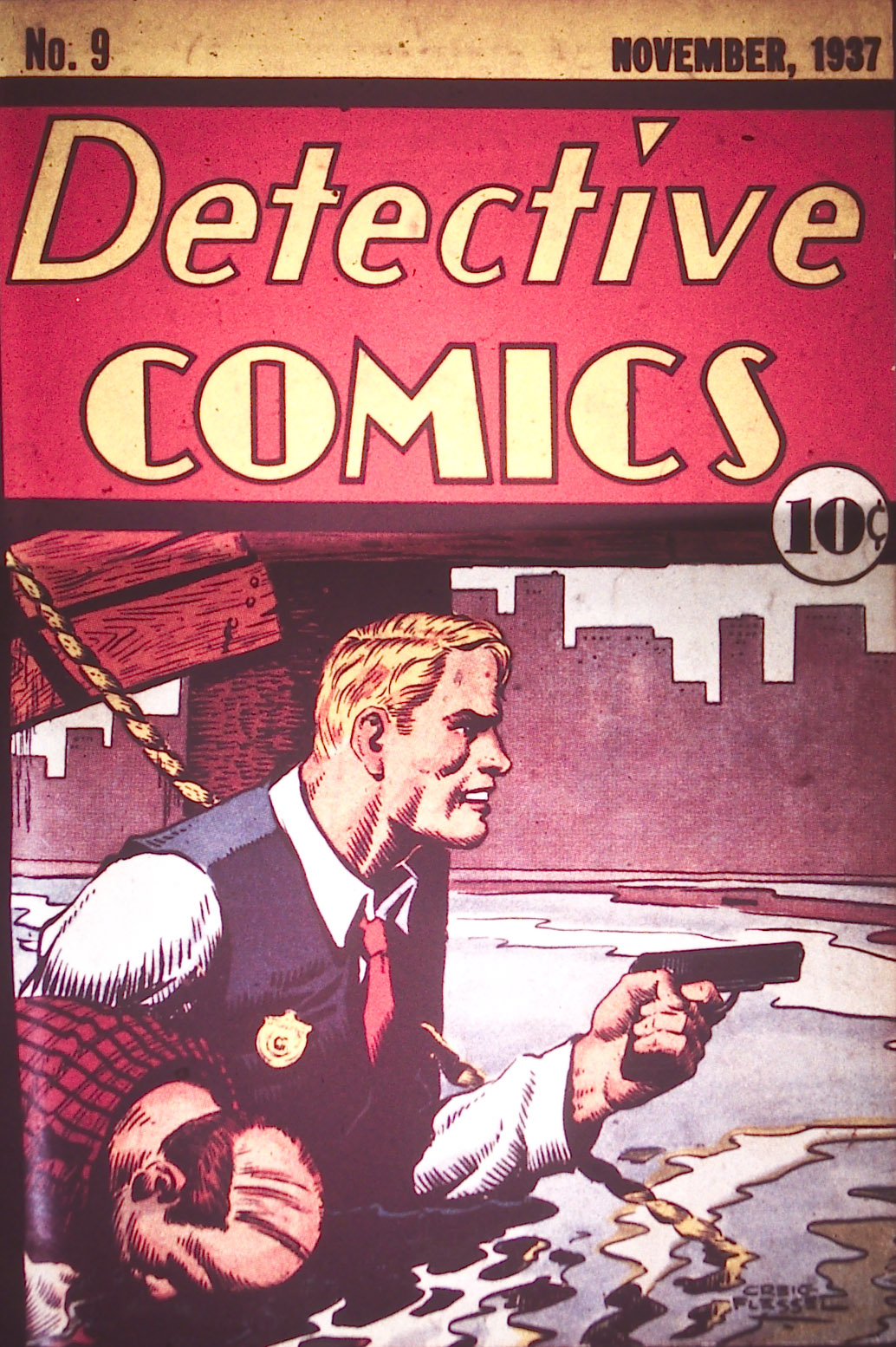 Read online Detective Comics (1937) comic -  Issue #9 - 1