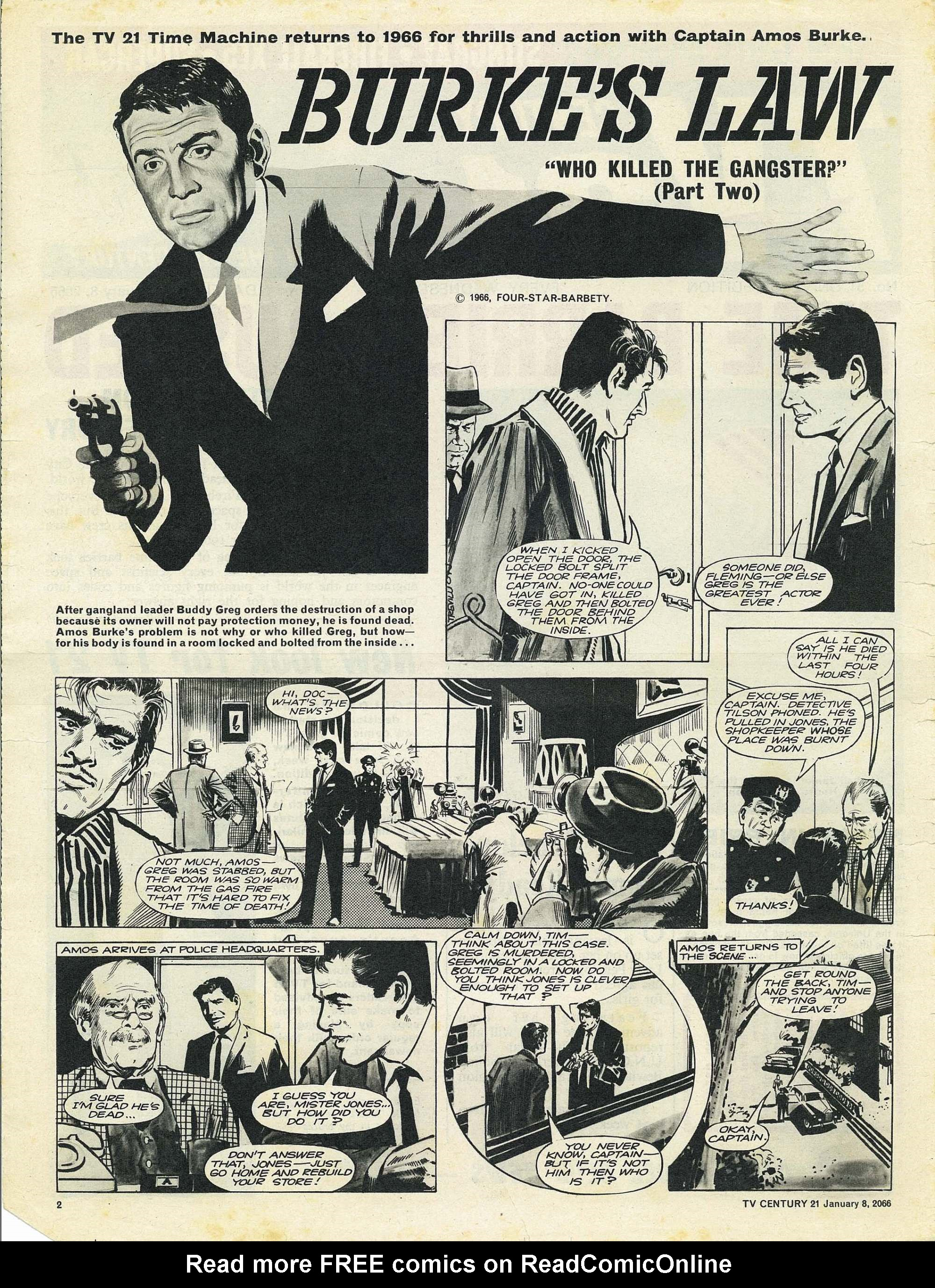 Read online TV Century 21 (TV 21) comic -  Issue #51 - 2