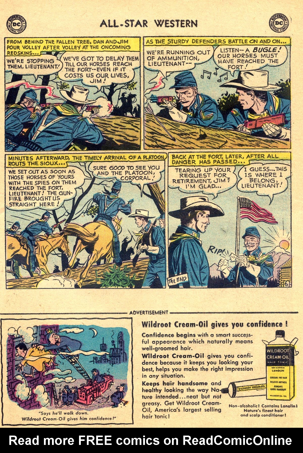 Read online All-Star Western (1951) comic -  Issue #93 - 25