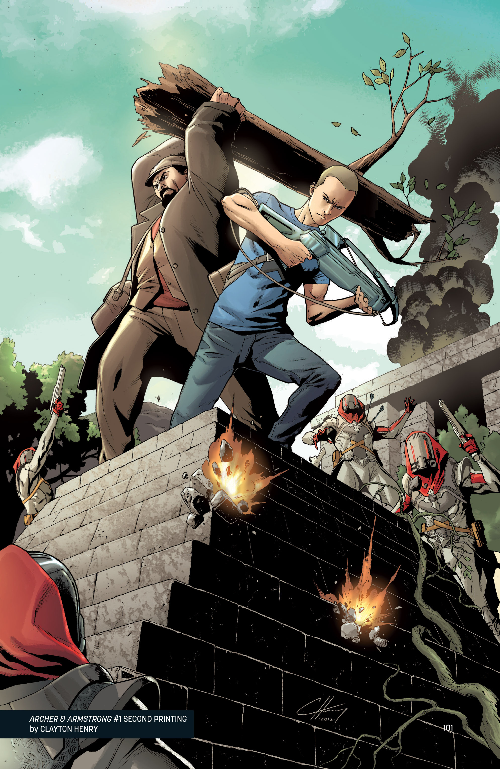 Read online Archer and Armstrong comic -  Issue #Archer and Armstrong _TPB 1 - 102