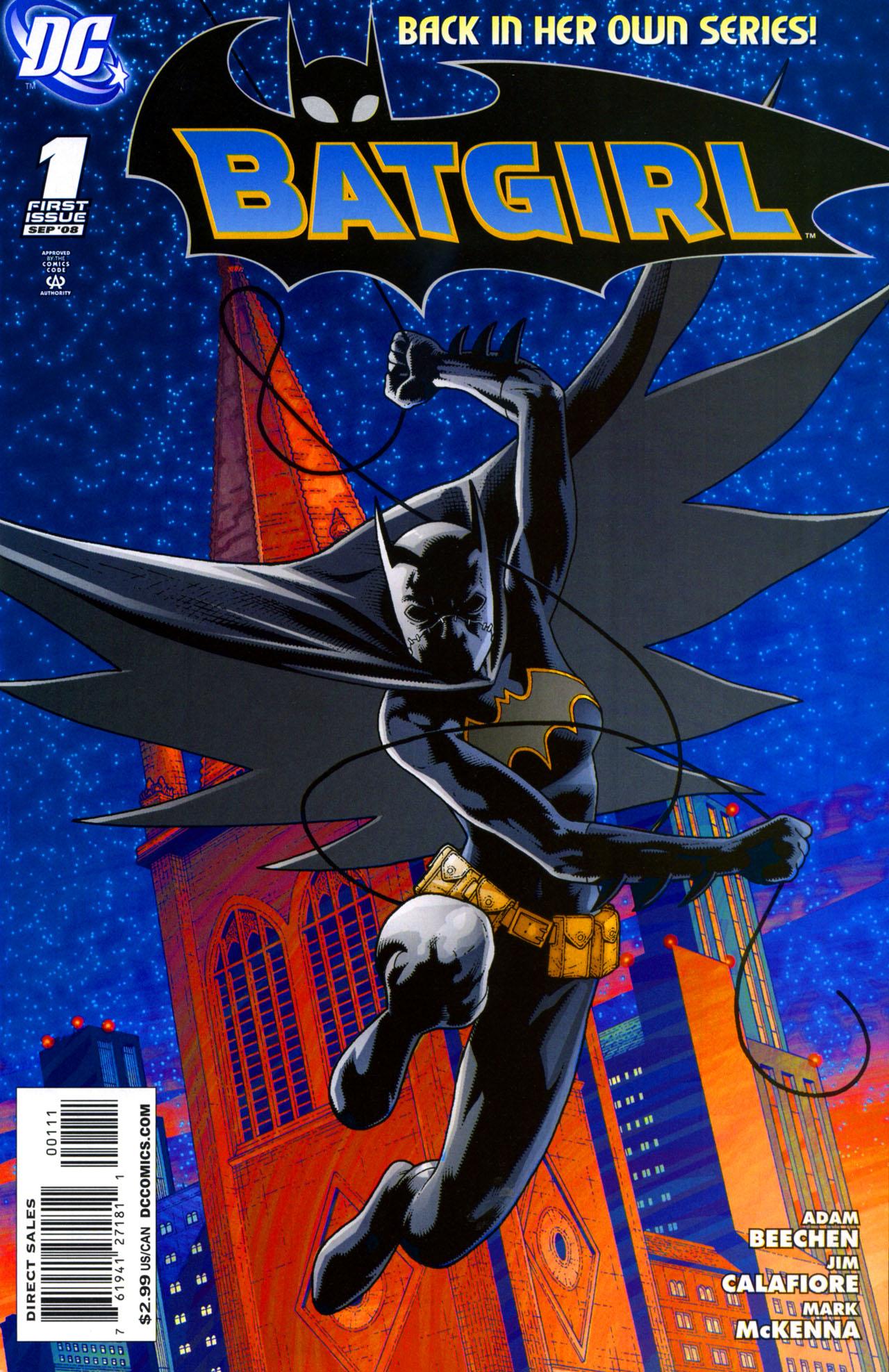 Batgirl (2008) 1 Page 1