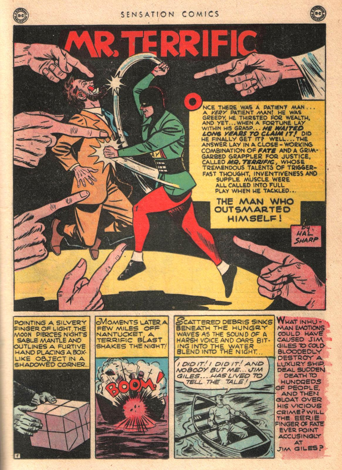 Read online Sensation (Mystery) Comics comic -  Issue #35 - 31