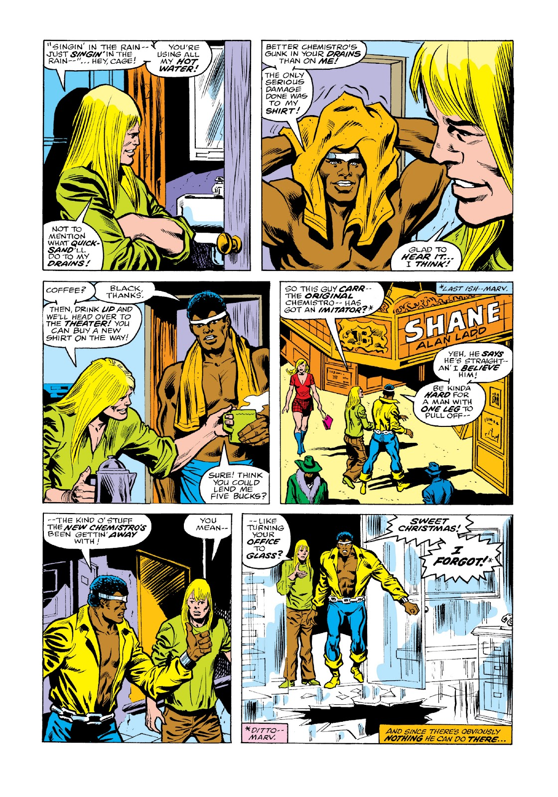 Read online Marvel Masterworks: Luke Cage, Power Man comic -  Issue # TPB 3 (Part 2) - 42