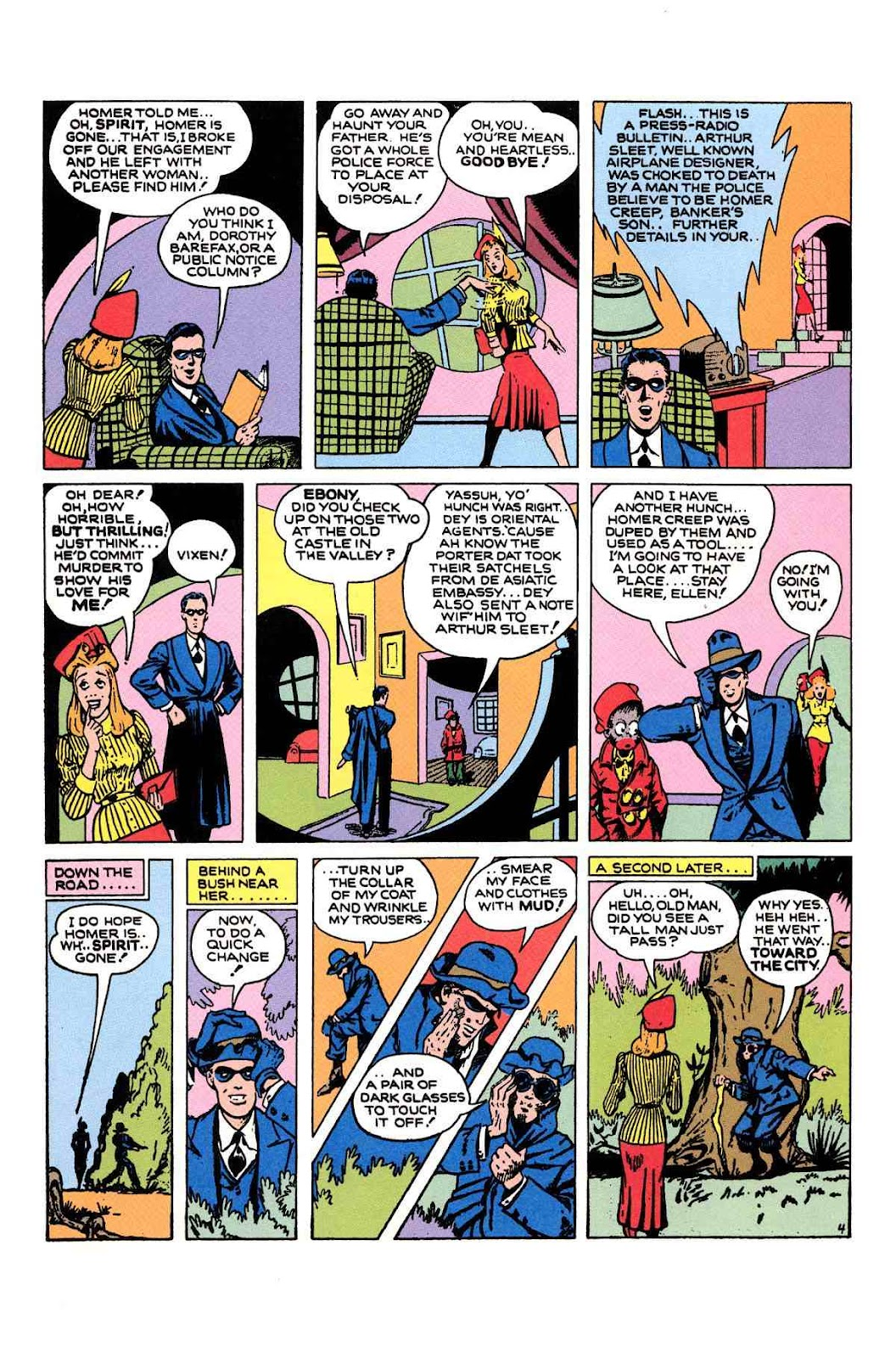 Read online Will Eisner's The Spirit Archives comic -  Issue # TPB 1 (Part 2) - 24