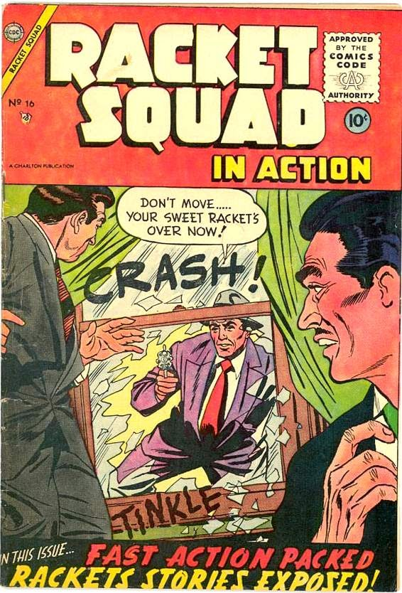 Read online Racket Squad in Action comic -  Issue #16 - 1