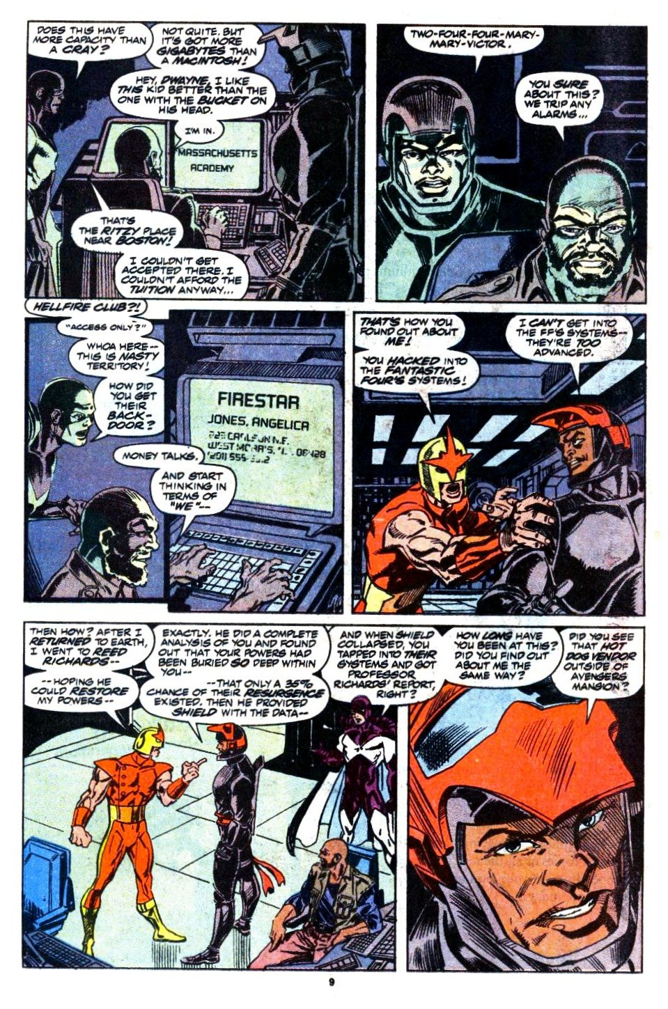 The New Warriors Issue #1 #5 - English 8