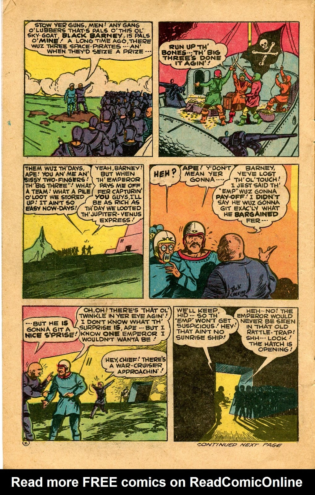 Read online Famous Funnies comic -  Issue #136 - 6