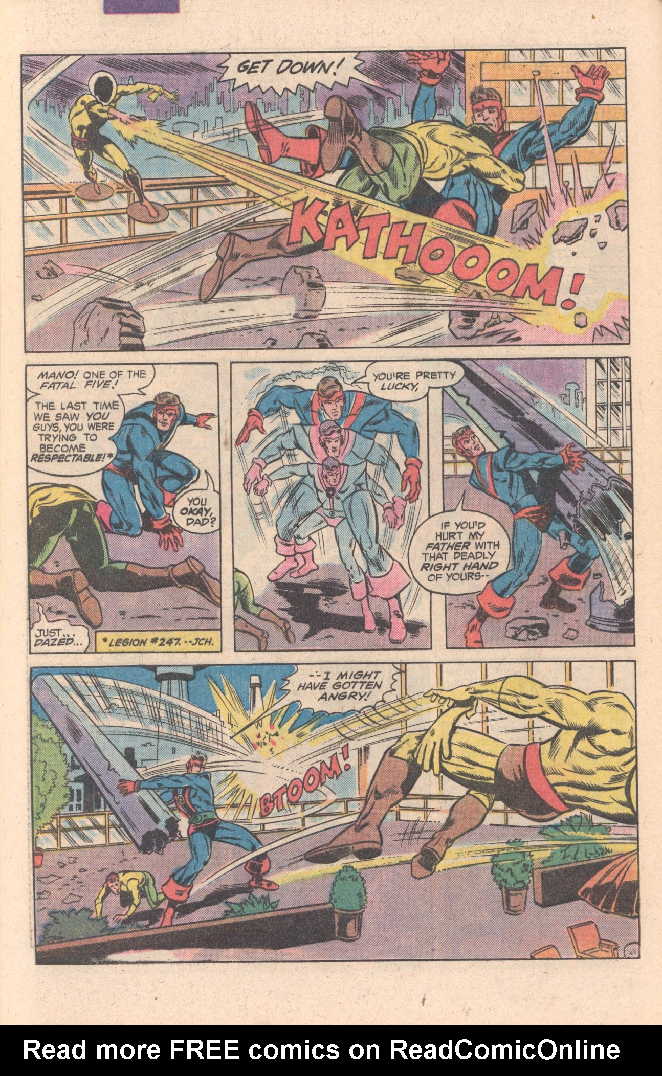 Legion of Super-Heroes (1980) 269 Page 22