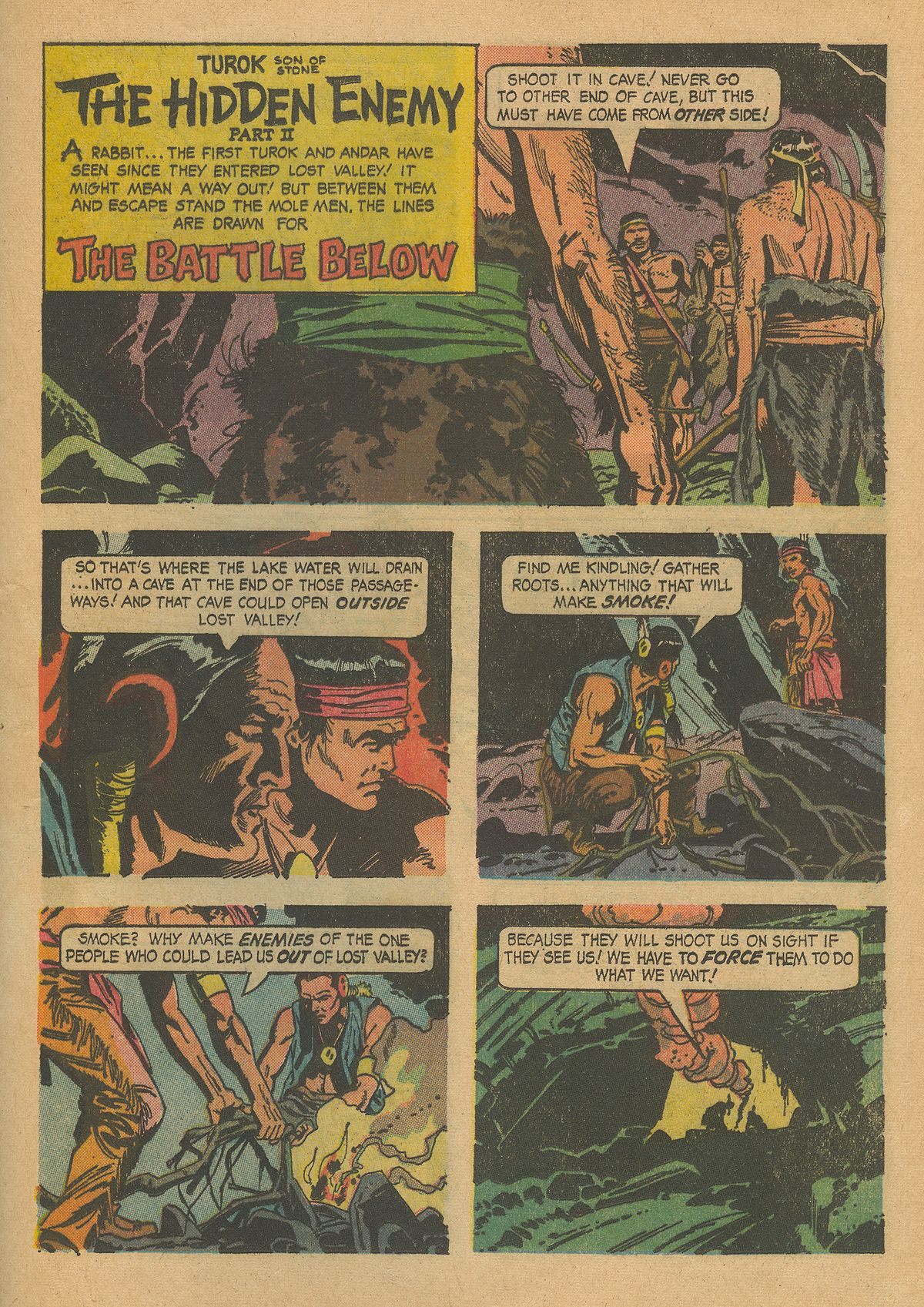 Read online Turok, Son of Stone comic -  Issue #43 - 25