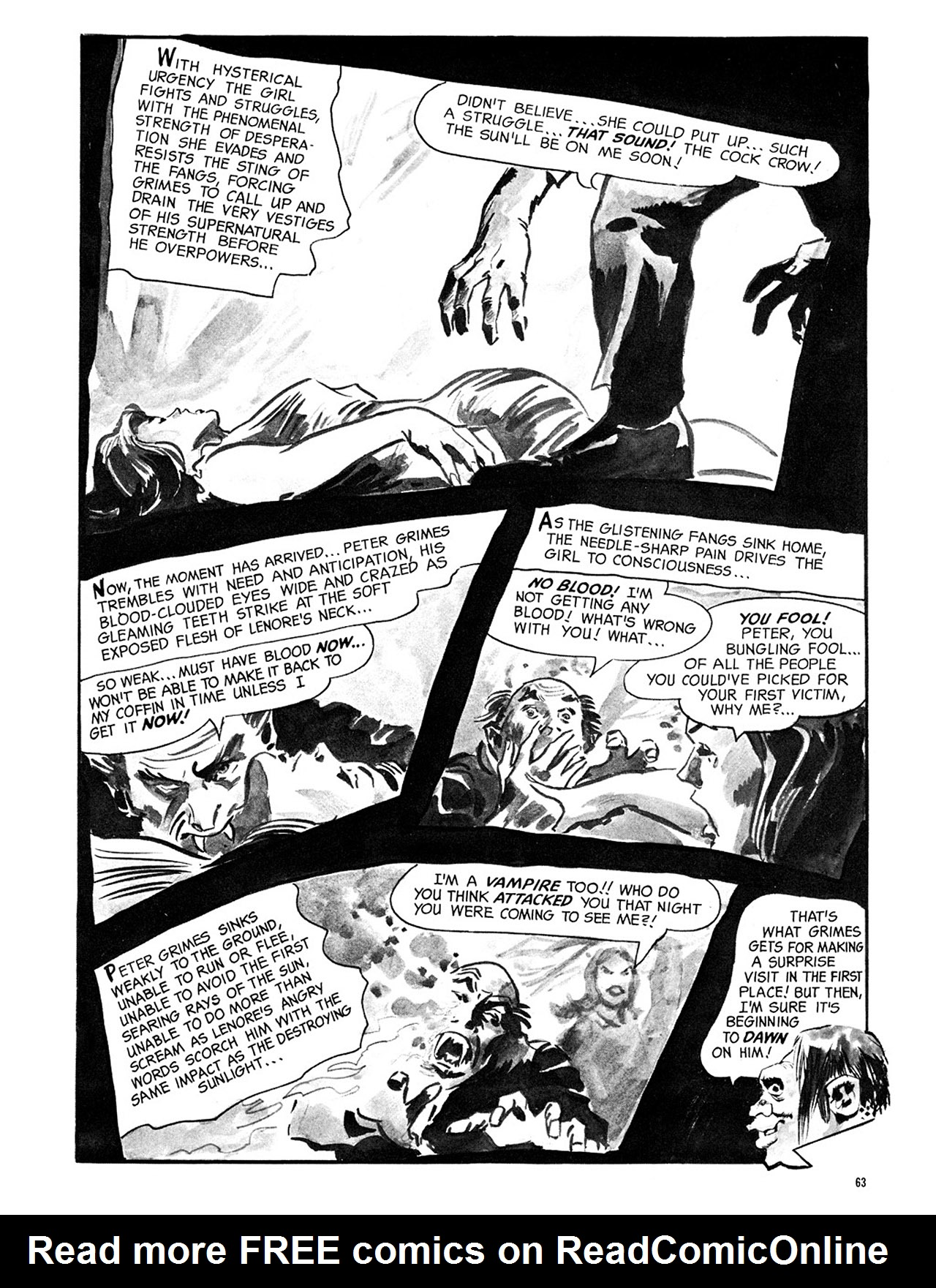 Read online Eerie Archives comic -  Issue # TPB 3 - 64