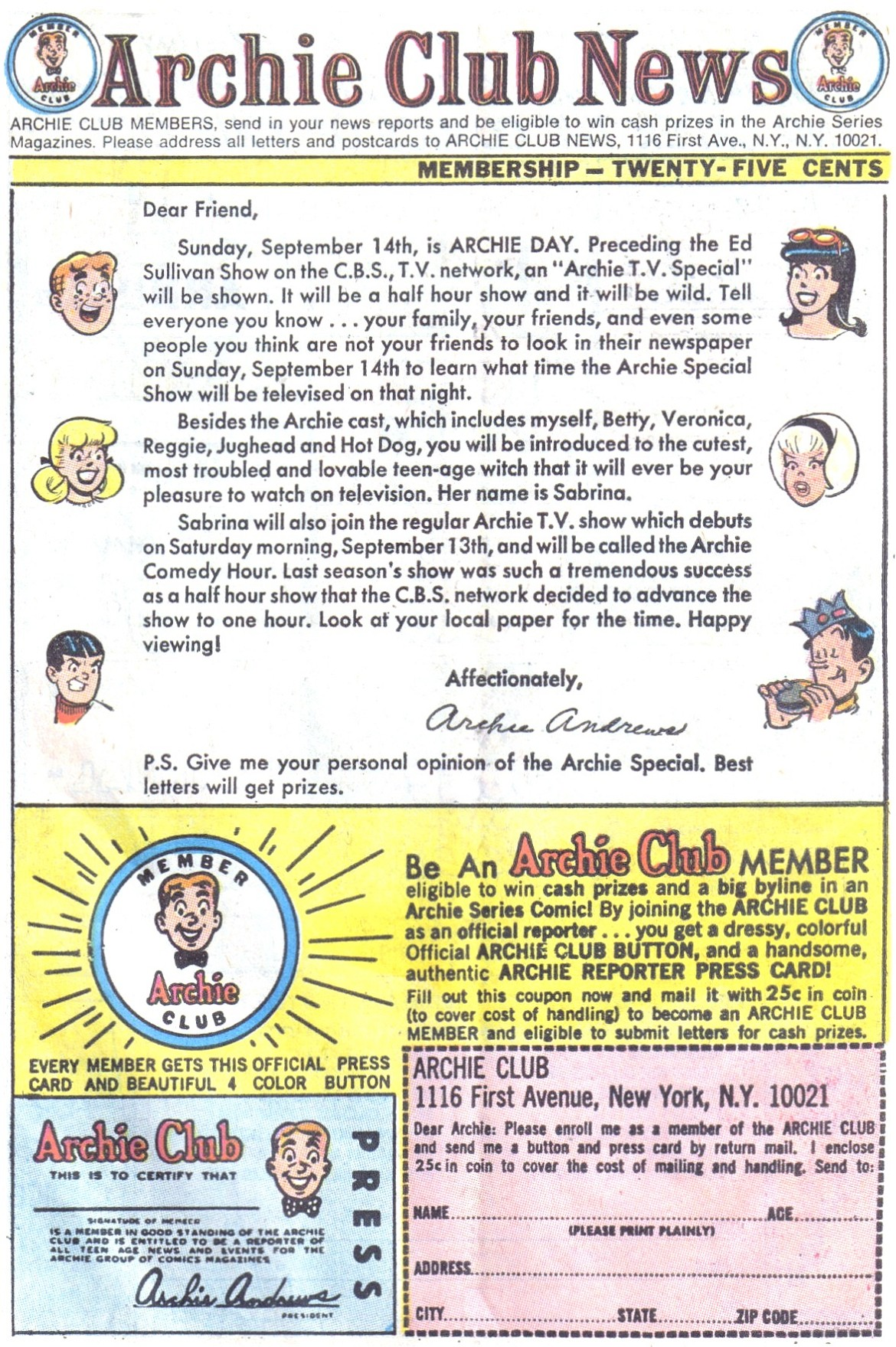 Read online Archie (1960) comic -  Issue #195 - 27