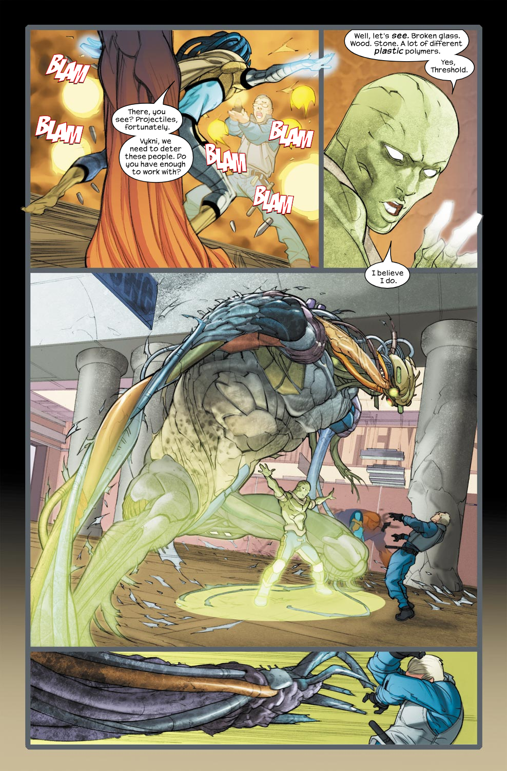 Read online Ultimate Fantastic Four (2004) comic -  Issue #33 - 6