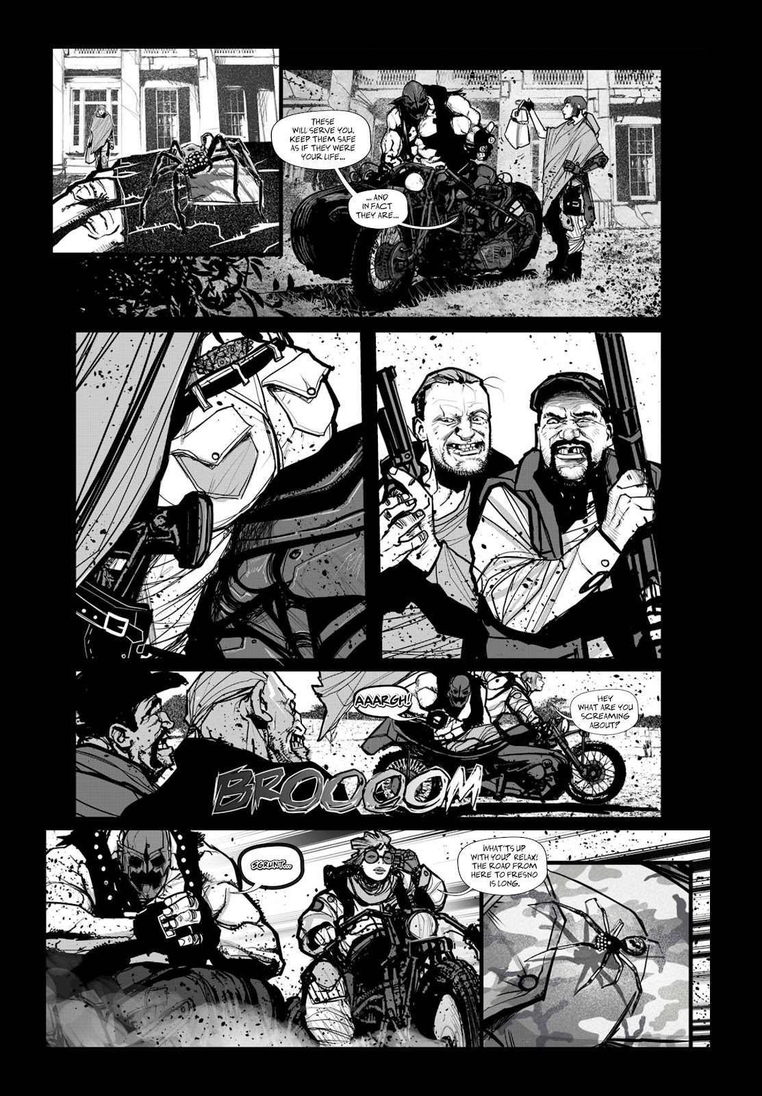 Read online Wrath of God comic -  Issue # _TPB - 94