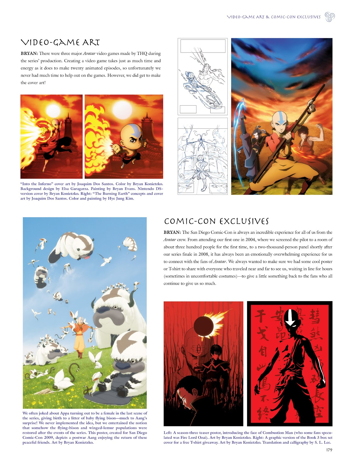 Read online Avatar: The Last Airbender - The Art of the Animated Series comic -  Issue # TPB (Part 2) - 76