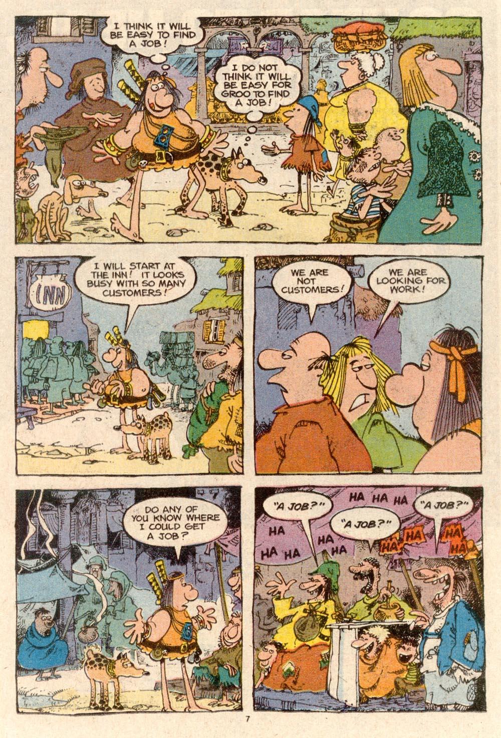 Read online Sergio Aragonés Groo the Wanderer comic -  Issue #60 - 7