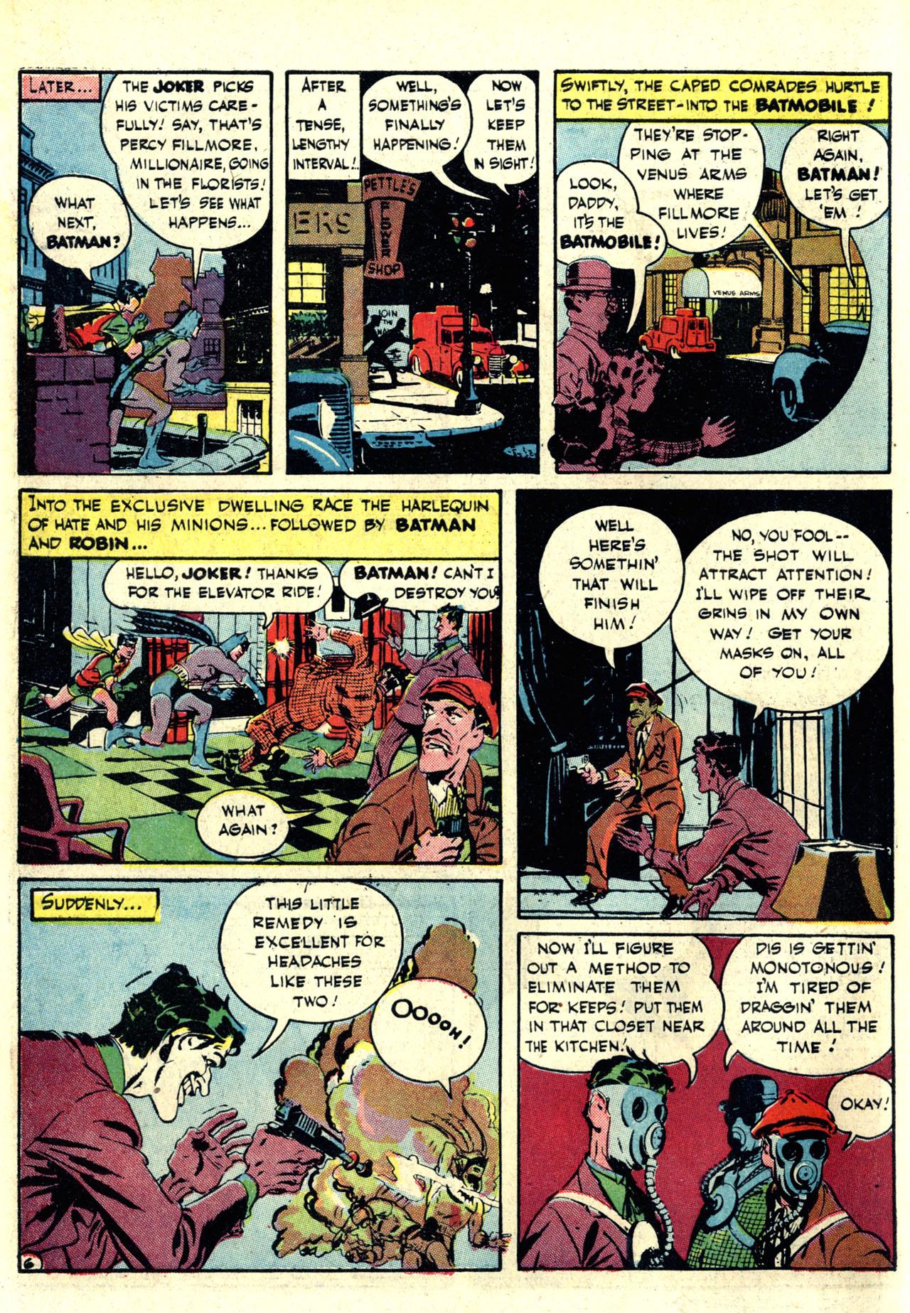 Read online Detective Comics (1937) comic -  Issue #76 - 8