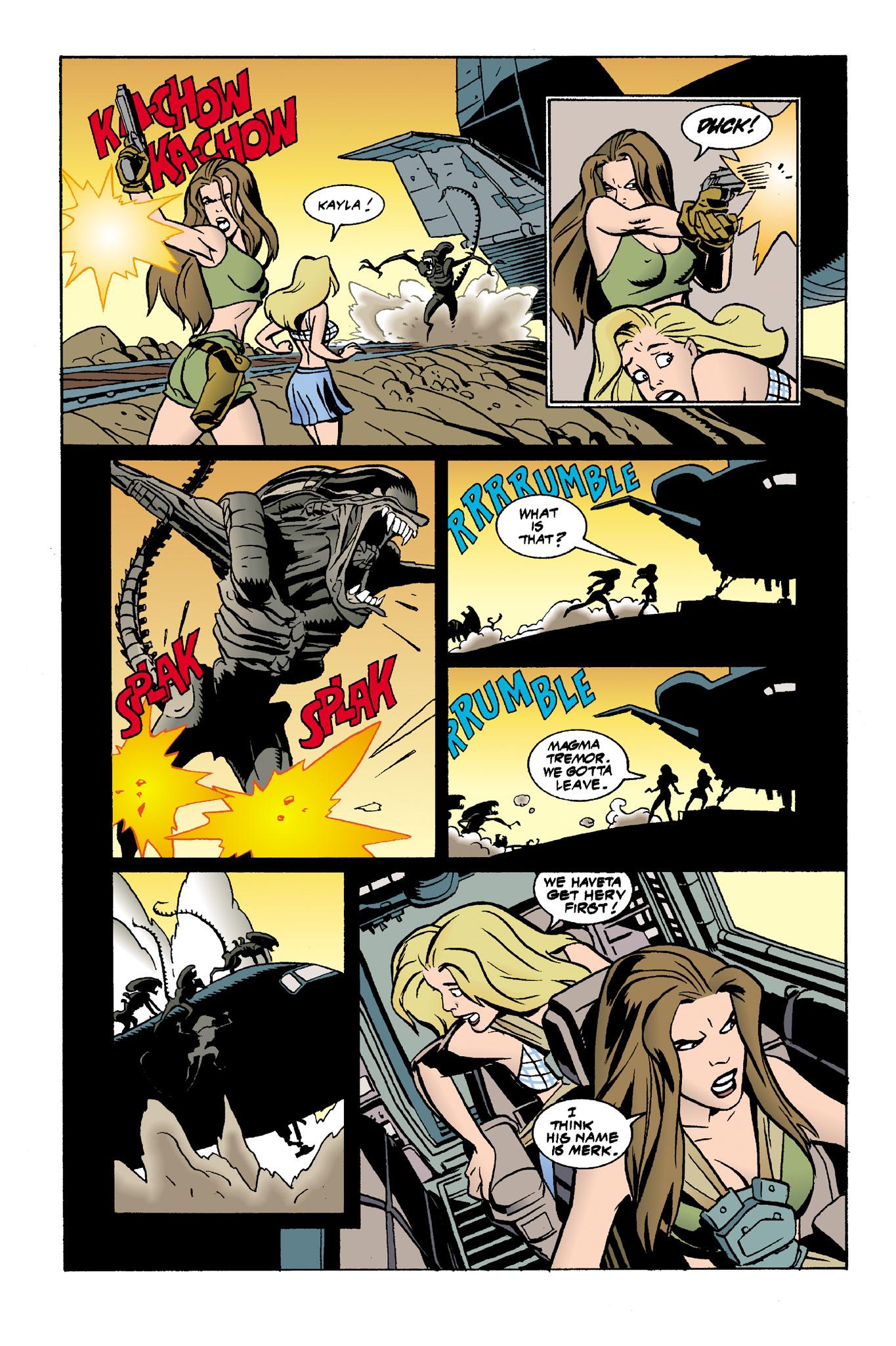 Read online Aliens: Mondo Heat comic -  Issue # Full - 17
