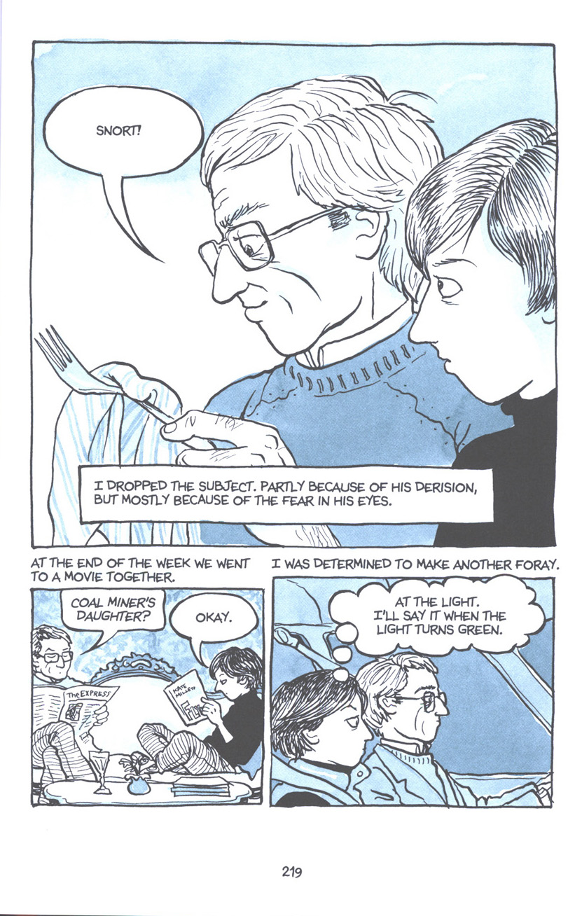 Read online Fun Home: A Family Tragicomic comic -  Issue # TPB - 225