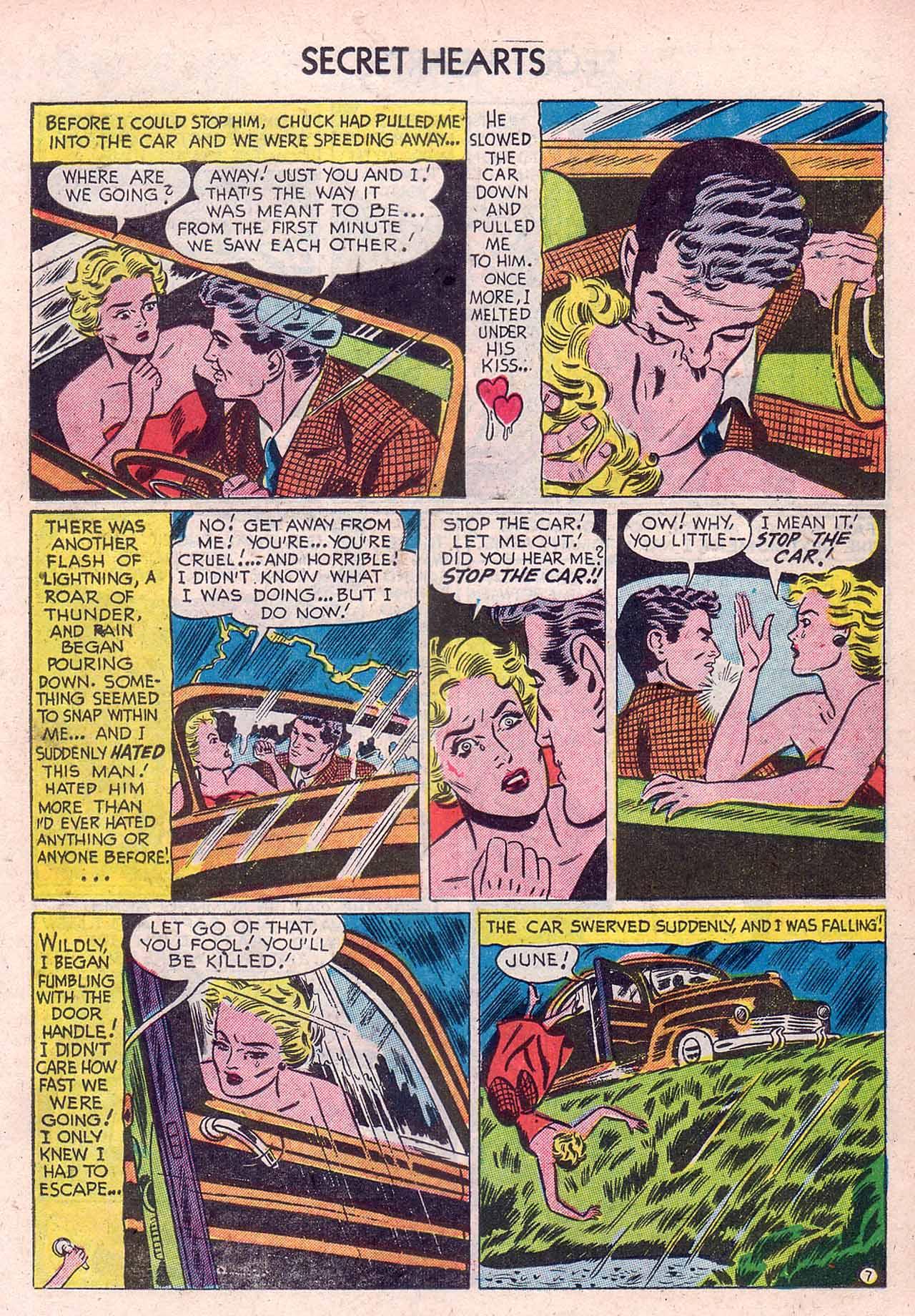 Read online Secret Hearts comic -  Issue #12 - 23