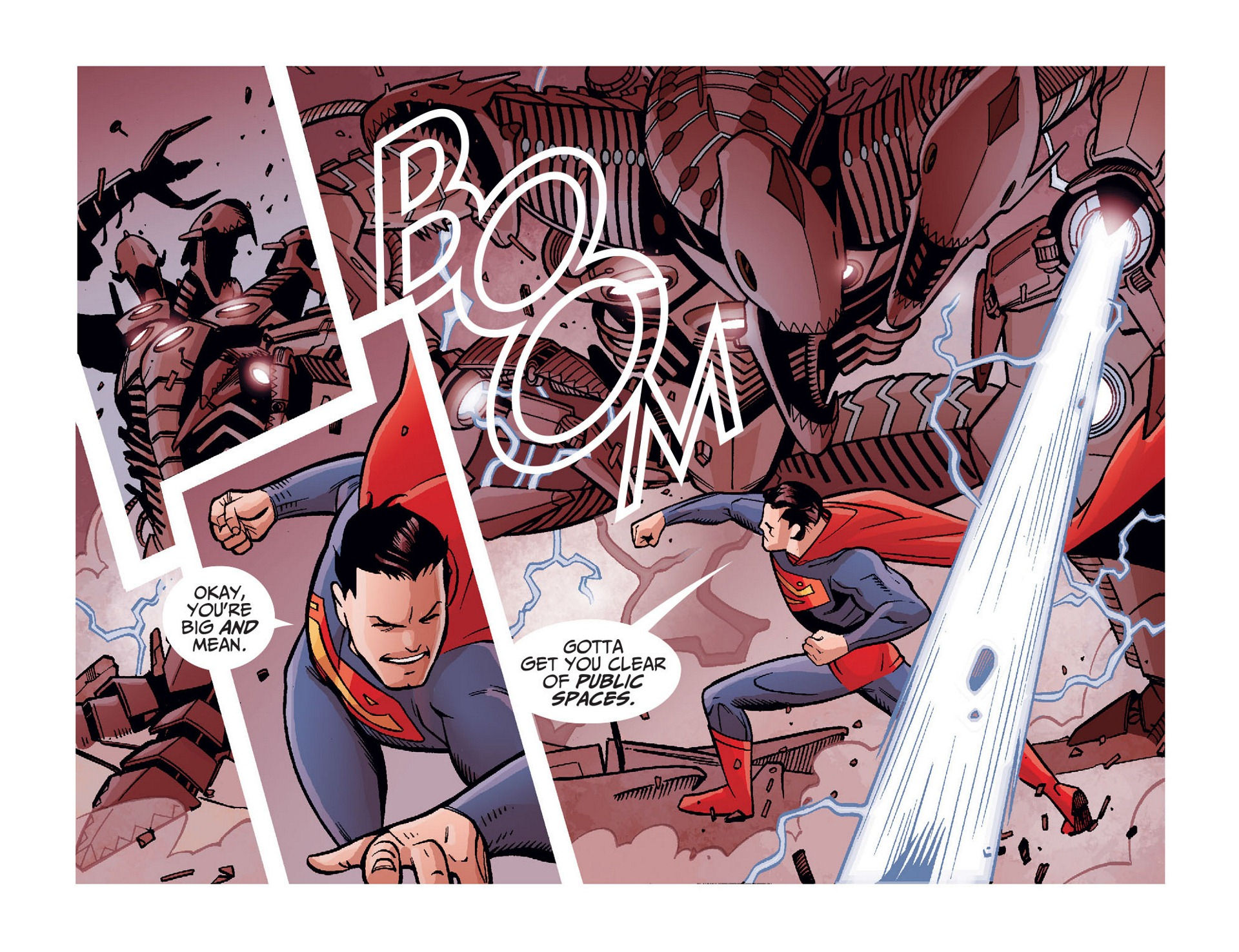 Read online Adventures of Superman [I] comic -  Issue #10 - 6