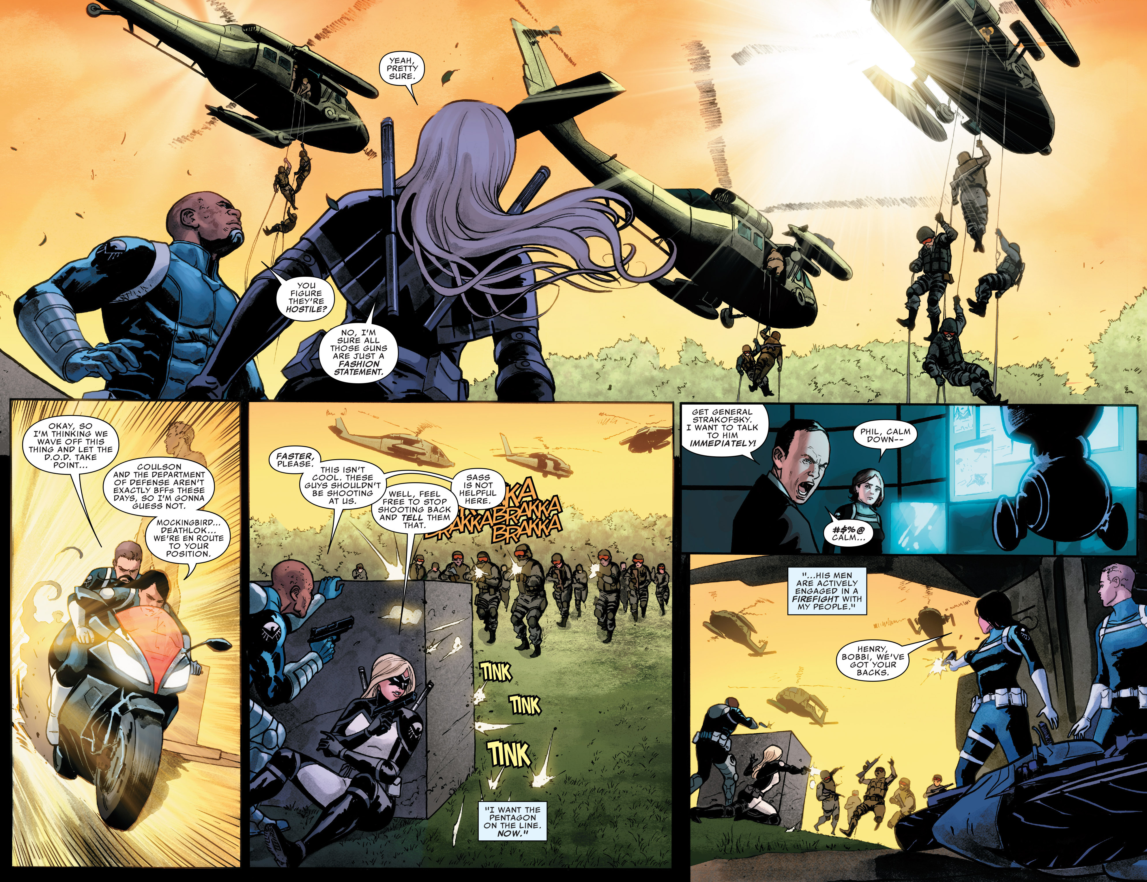 Read online Agents of S.H.I.E.L.D. comic -  Issue #7 - 3