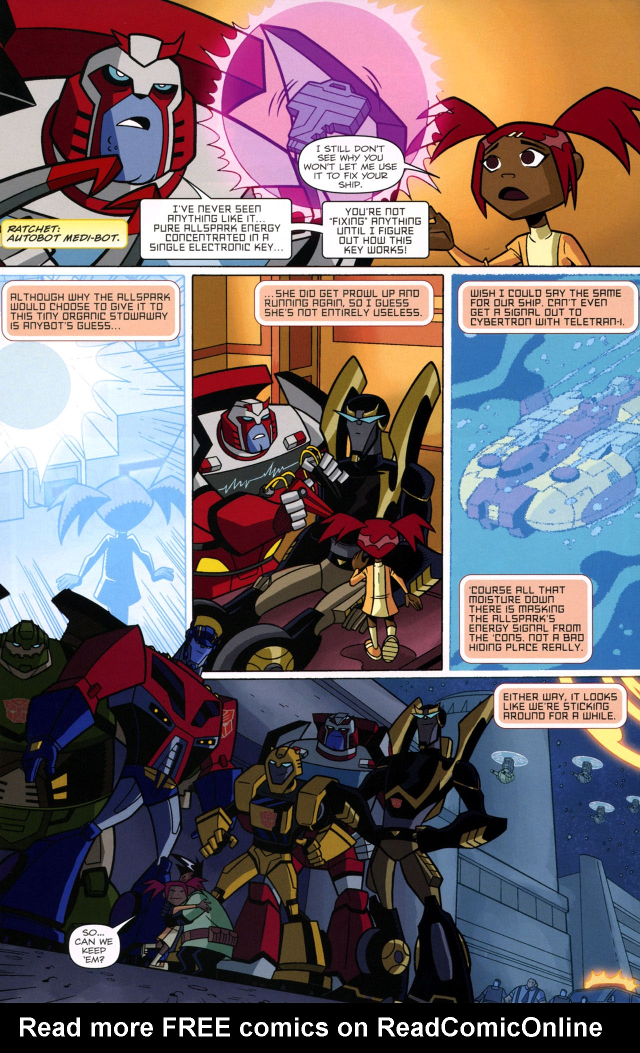 Read online Transformers Animated: The Arrival comic -  Issue #1 - 18