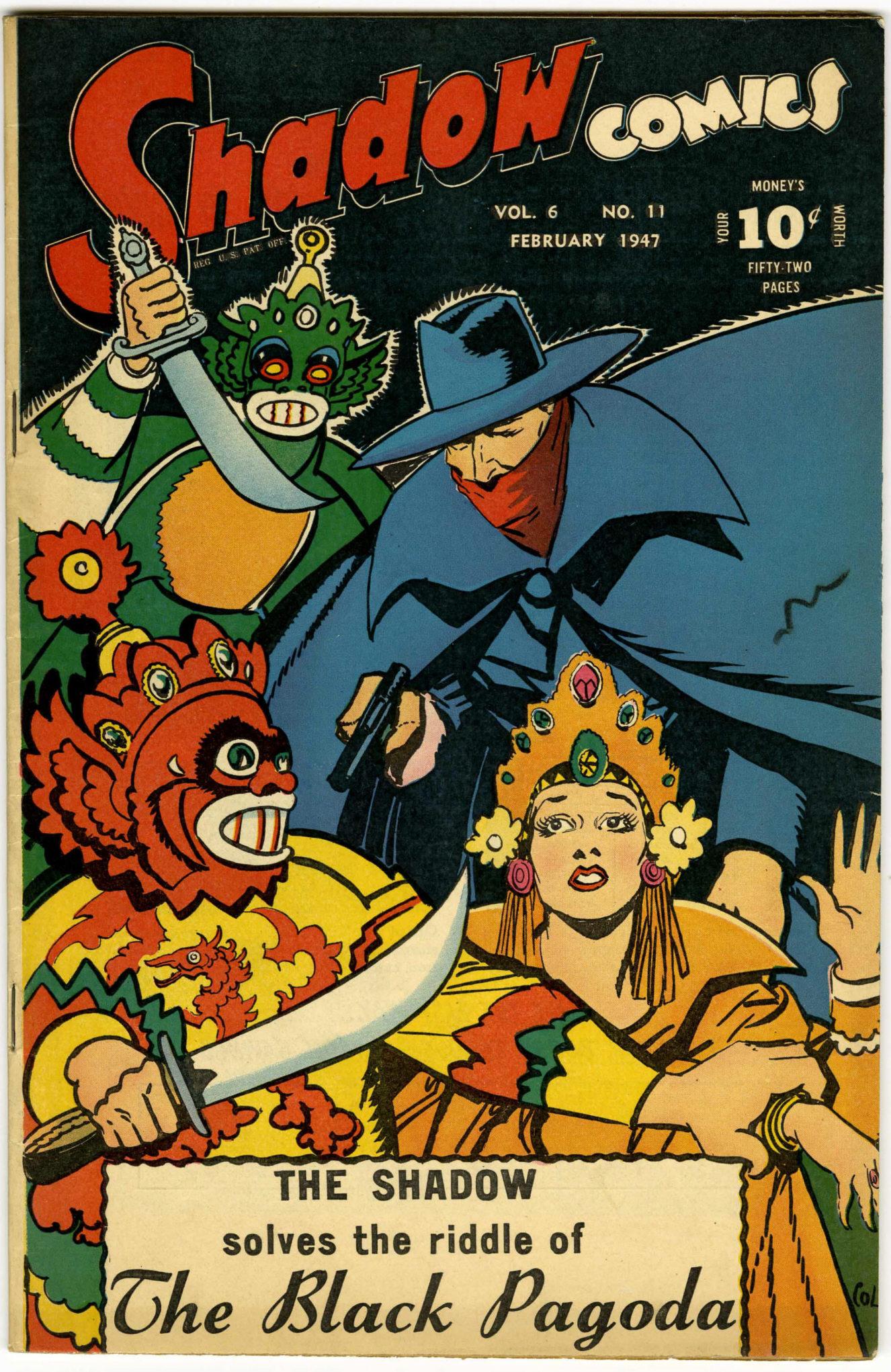 Read online Shadow Comics comic -  Issue #71 - 1