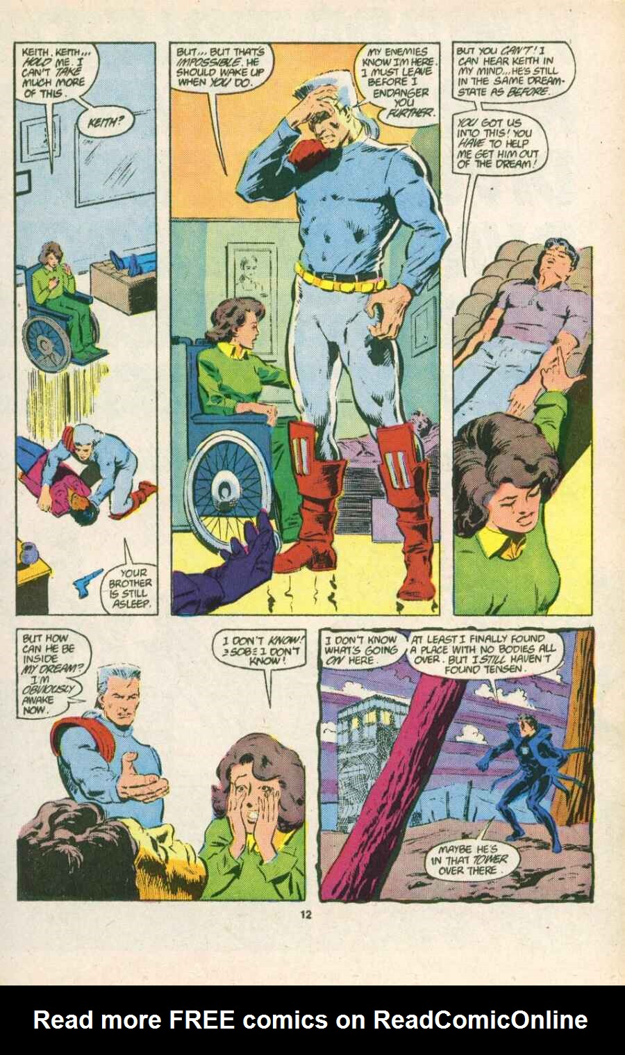 Read online Justice (1986) comic -  Issue #15 - 13
