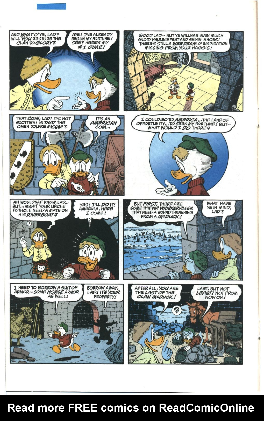 Read online Uncle Scrooge (1953) comic -  Issue #285 - 13