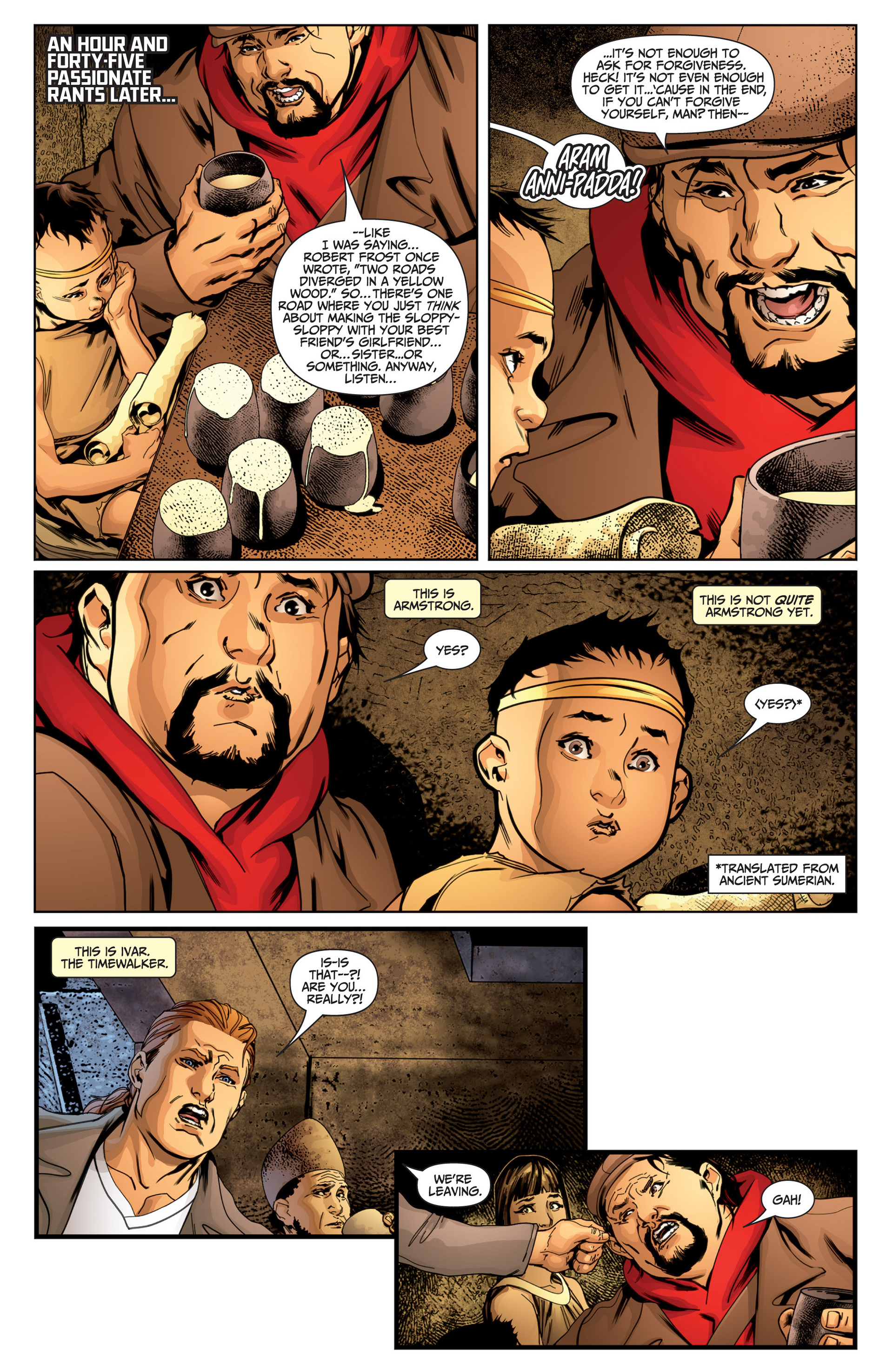 Read online Archer and Armstrong comic -  Issue #25 - 29