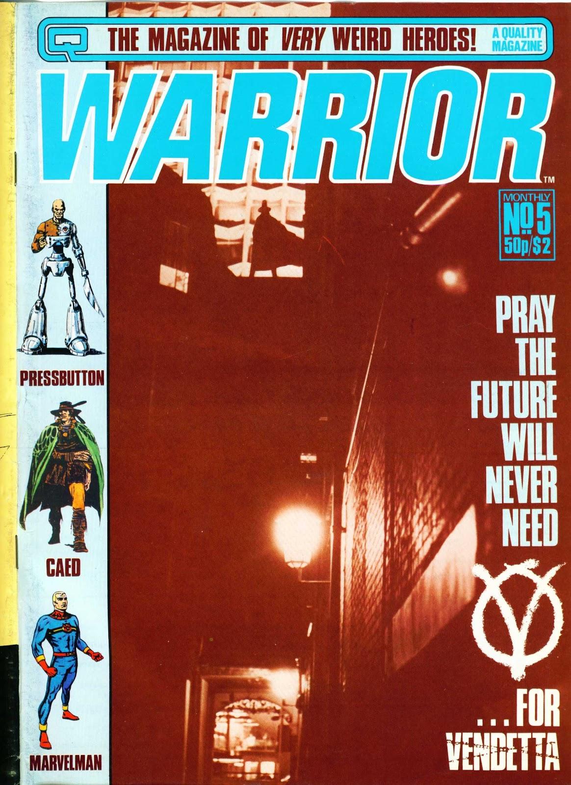Warrior 5 Page 1