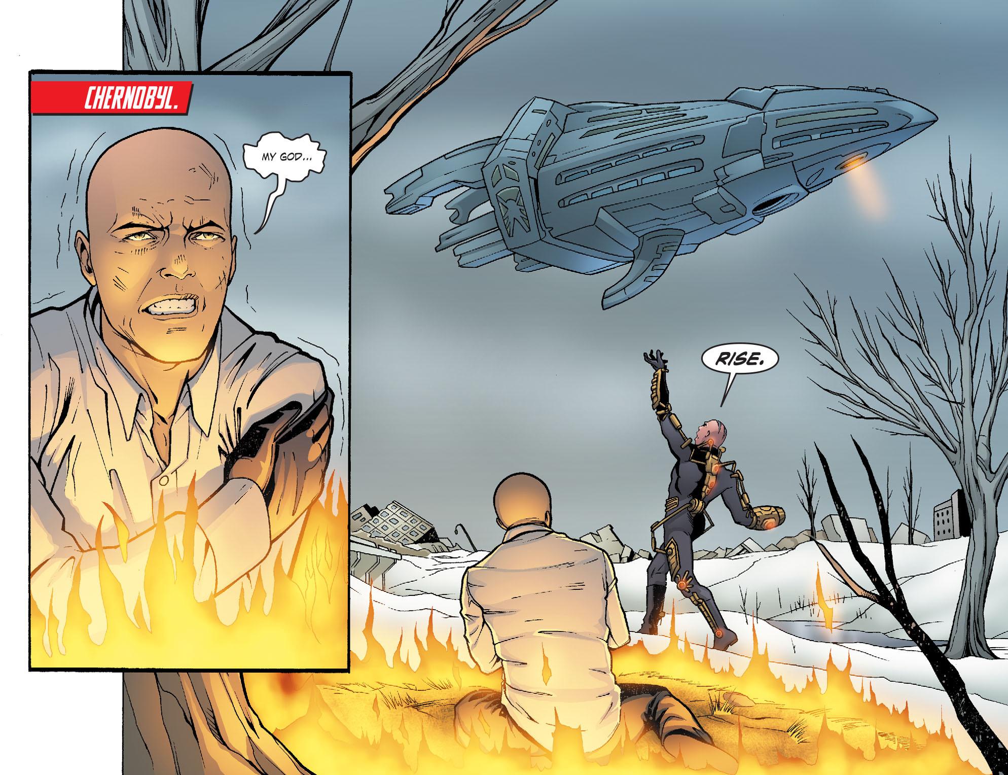Read online Smallville: Alien comic -  Issue #11 - 13