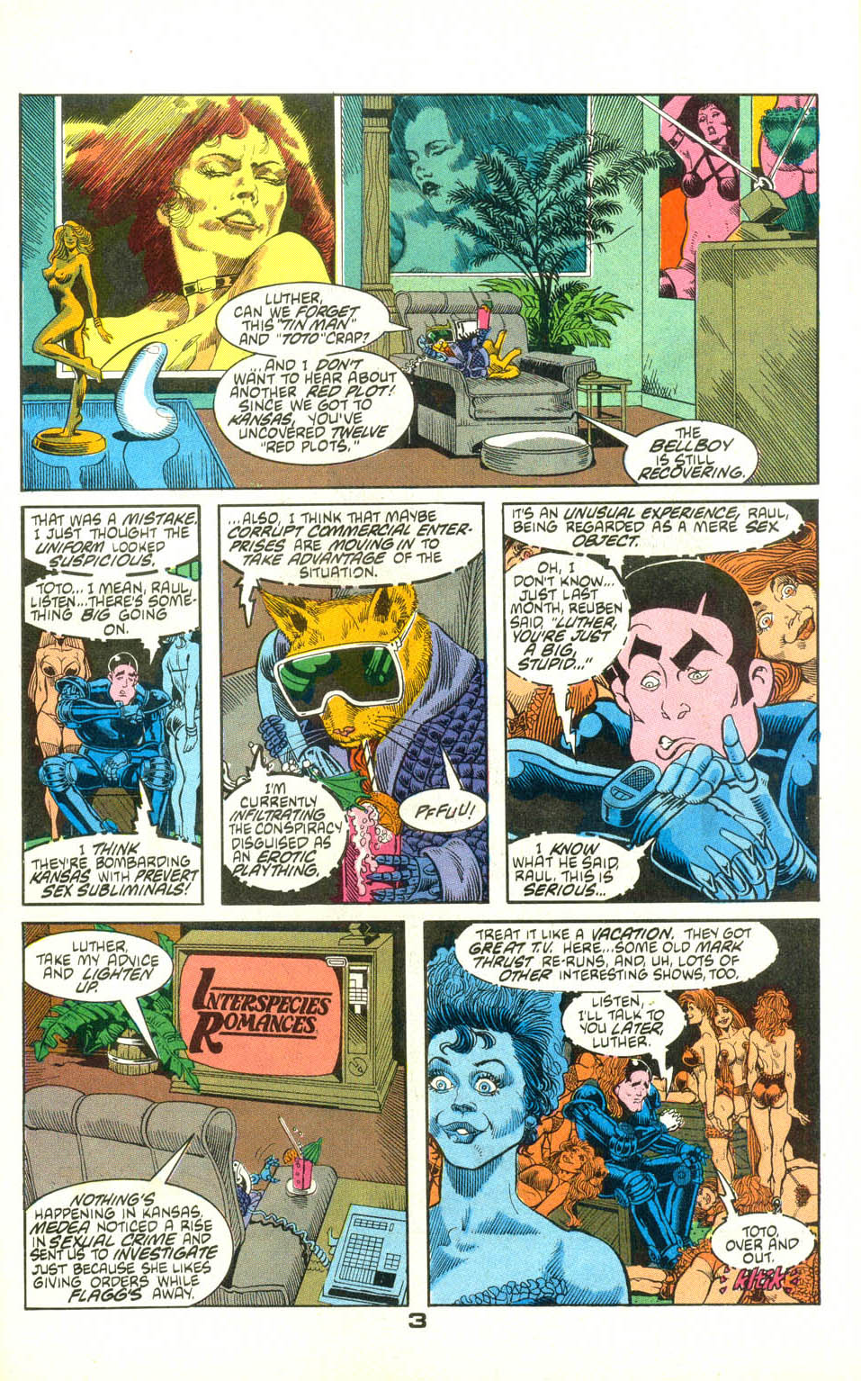 Read online American Flagg! comic -  Issue #22 - 25