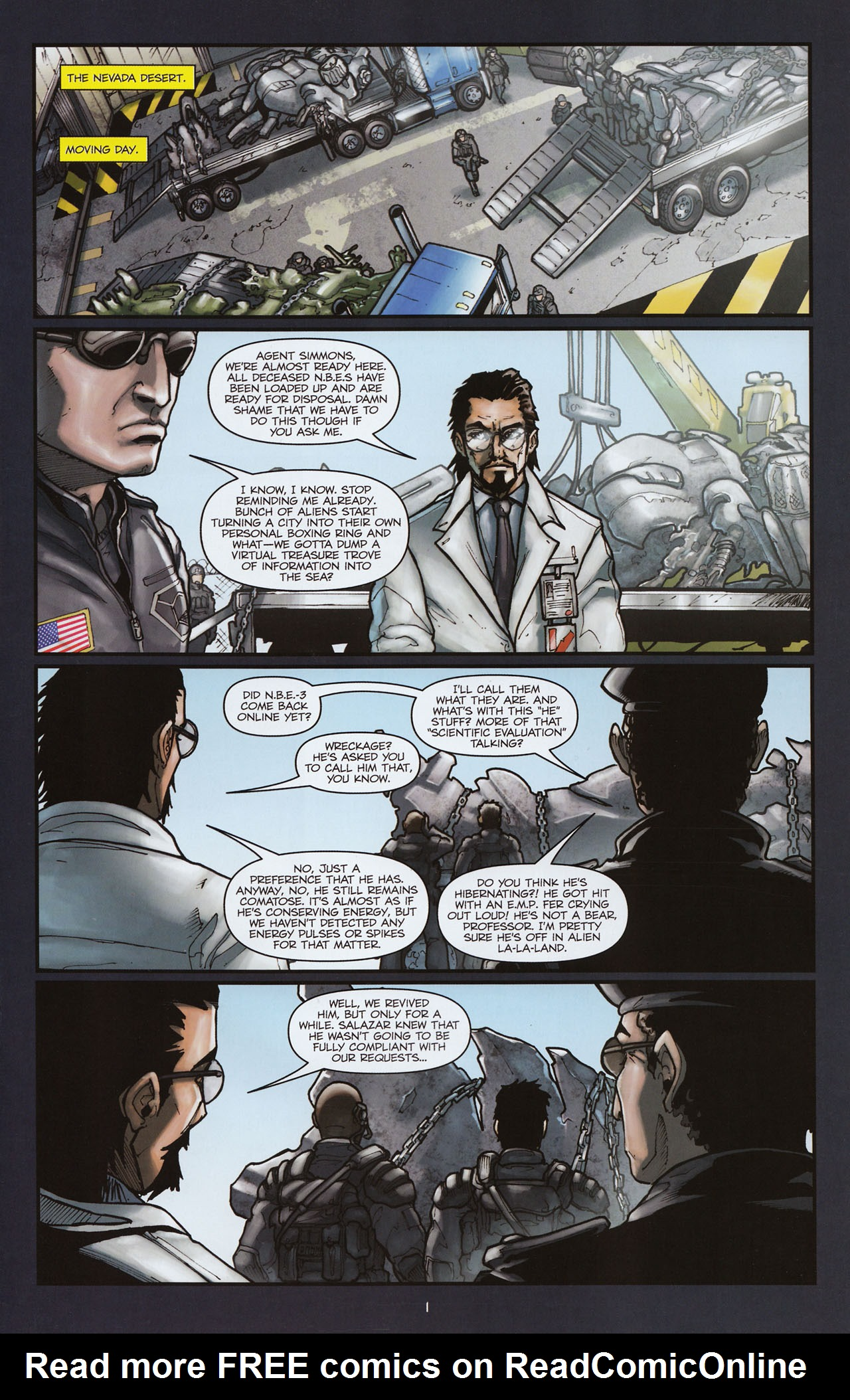 Read online Transformers: Alliance comic -  Issue #2 - 4