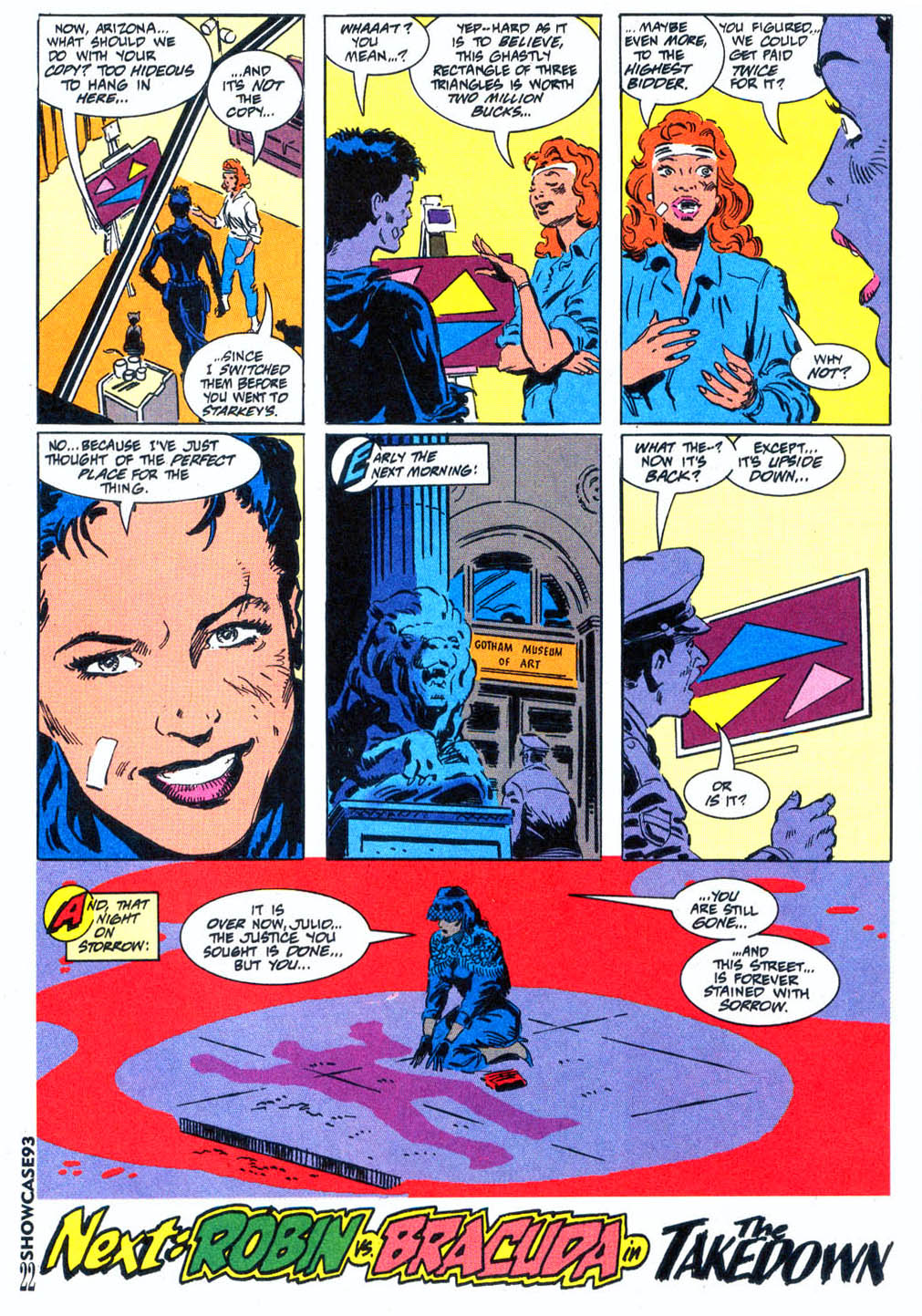 Read online Showcase '93 comic -  Issue #4 - 19