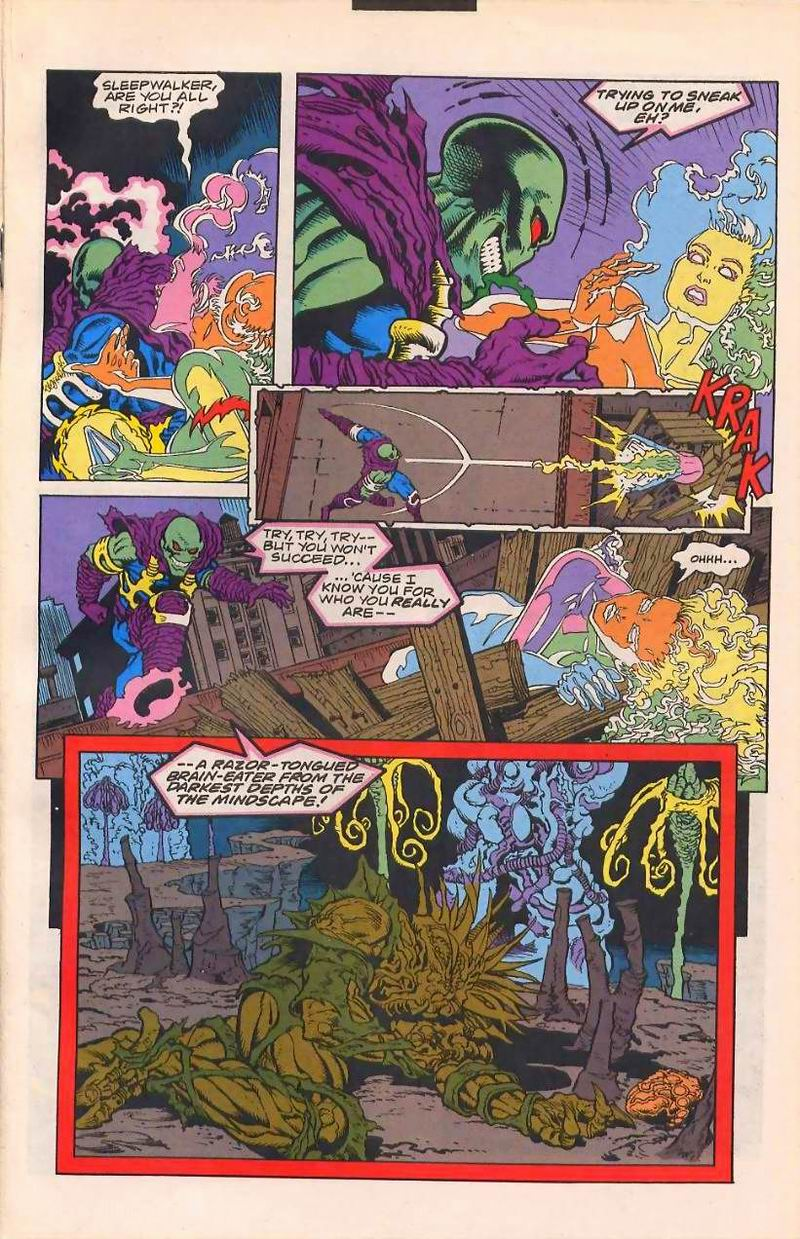 Read online Sleepwalker comic -  Issue #32 - 14